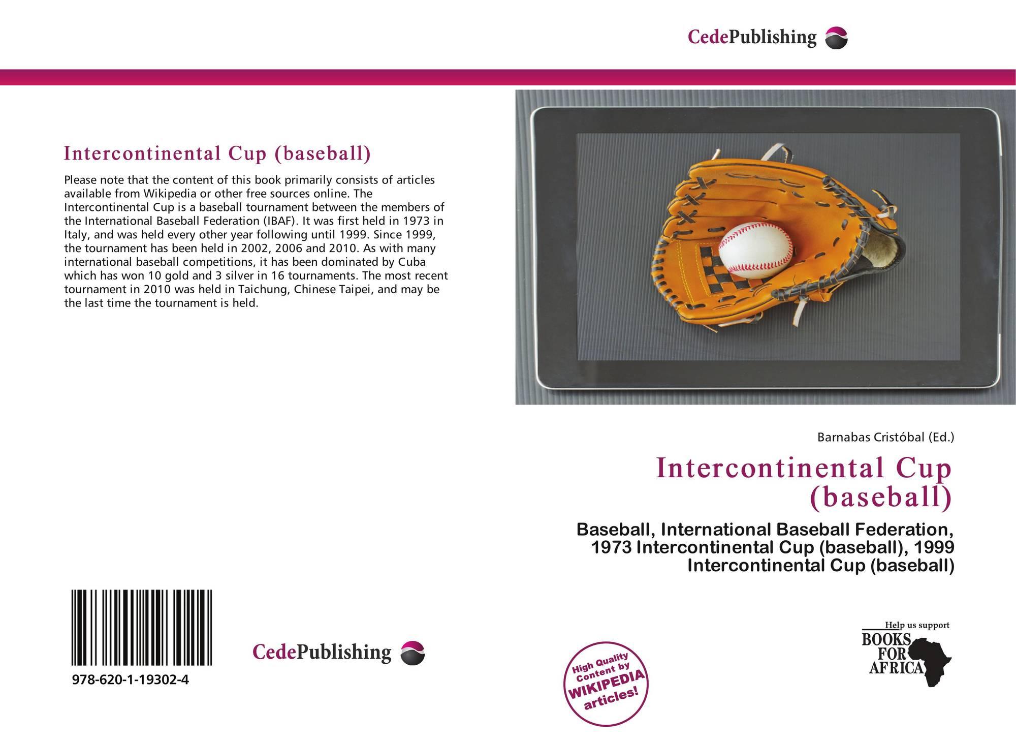 Intercontinental Cup (baseball), 978-620-1-19302-4, 6201193022 ...