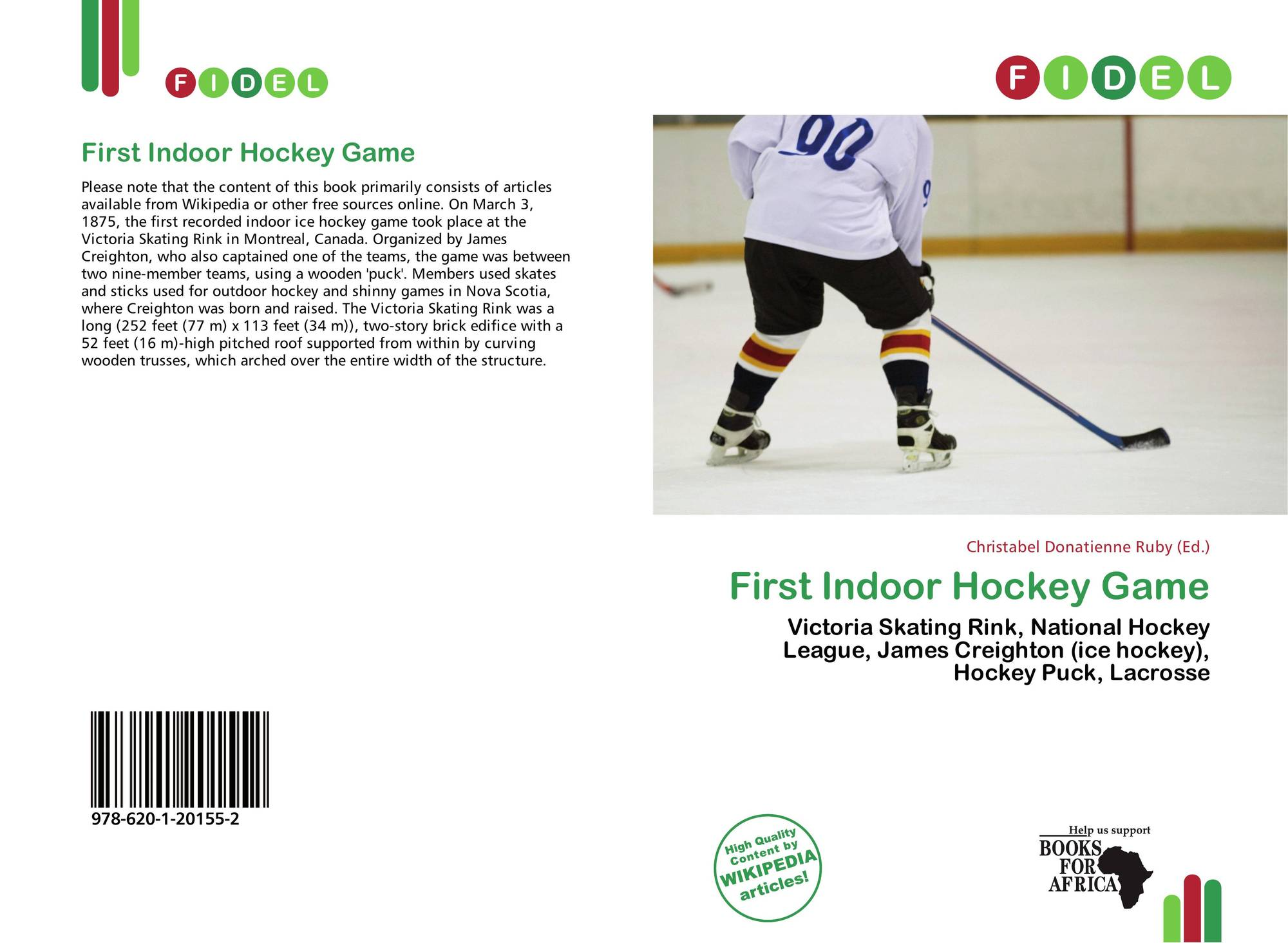 First Indoor Hockey Game 978 620 1 20155 2 6201201556 9786201201552