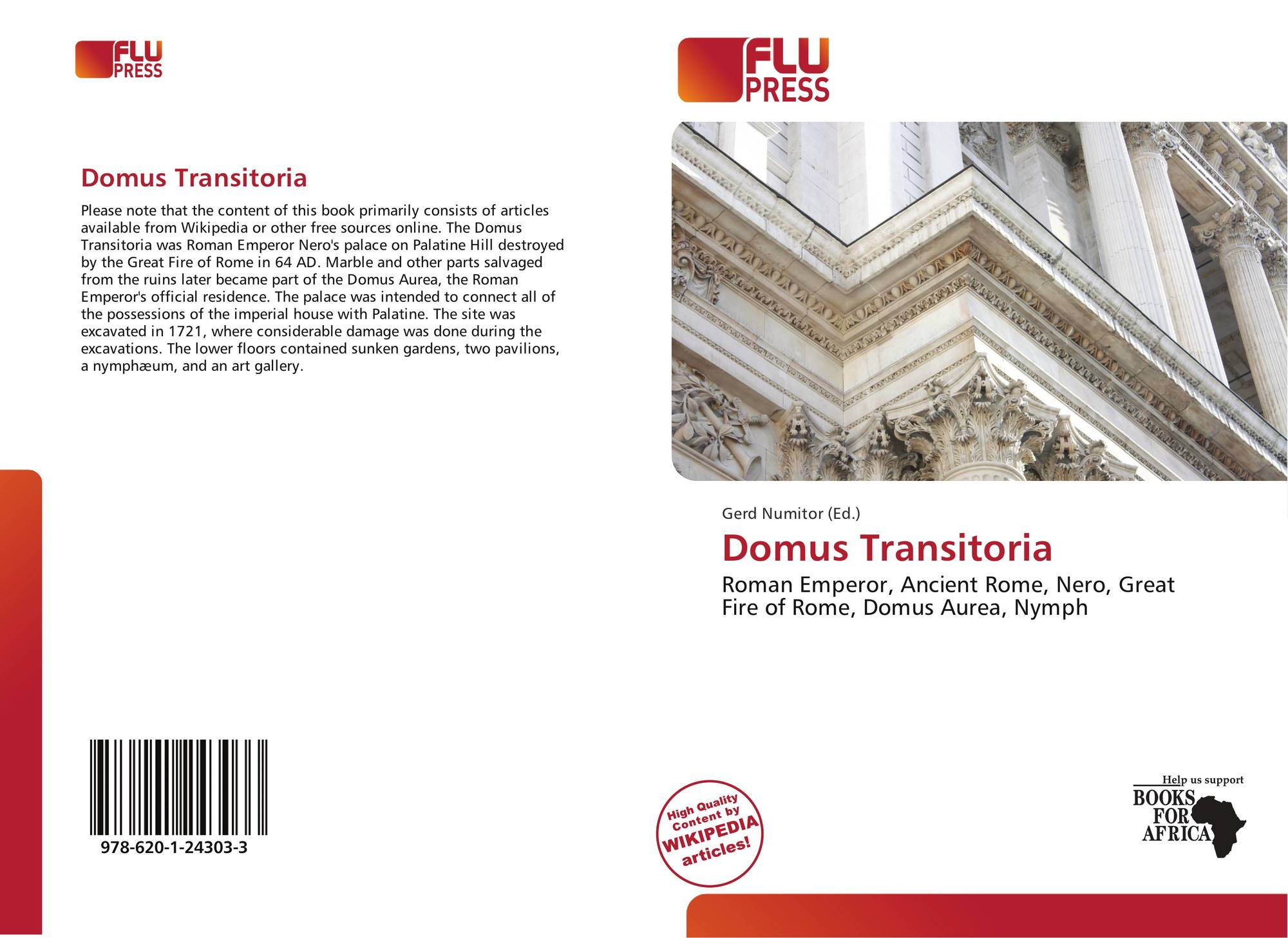a physical description of the domus transitoria the residence of nero
