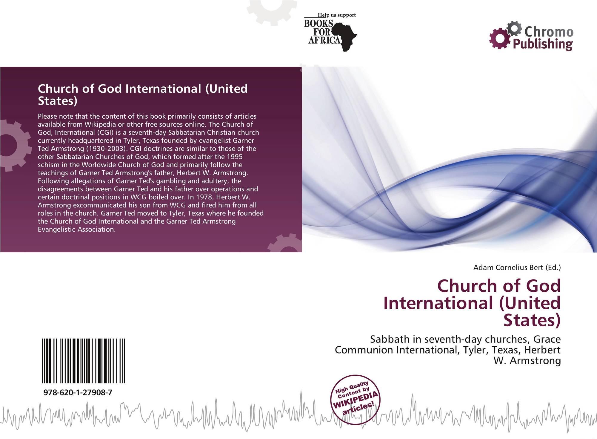 Church of God International (United States), 978-620-1-27908