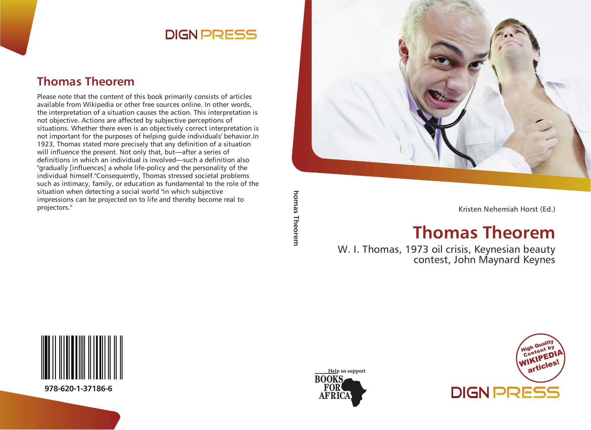 thomas theorem Start studying chapter 4 sociology learn vocabulary, terms, and more with flashcards, games, and other study tools search create log in sign up log in sign up the thomas theorem was created by wi thomas (1931) the thomas theorem states if people define situations as real, they.