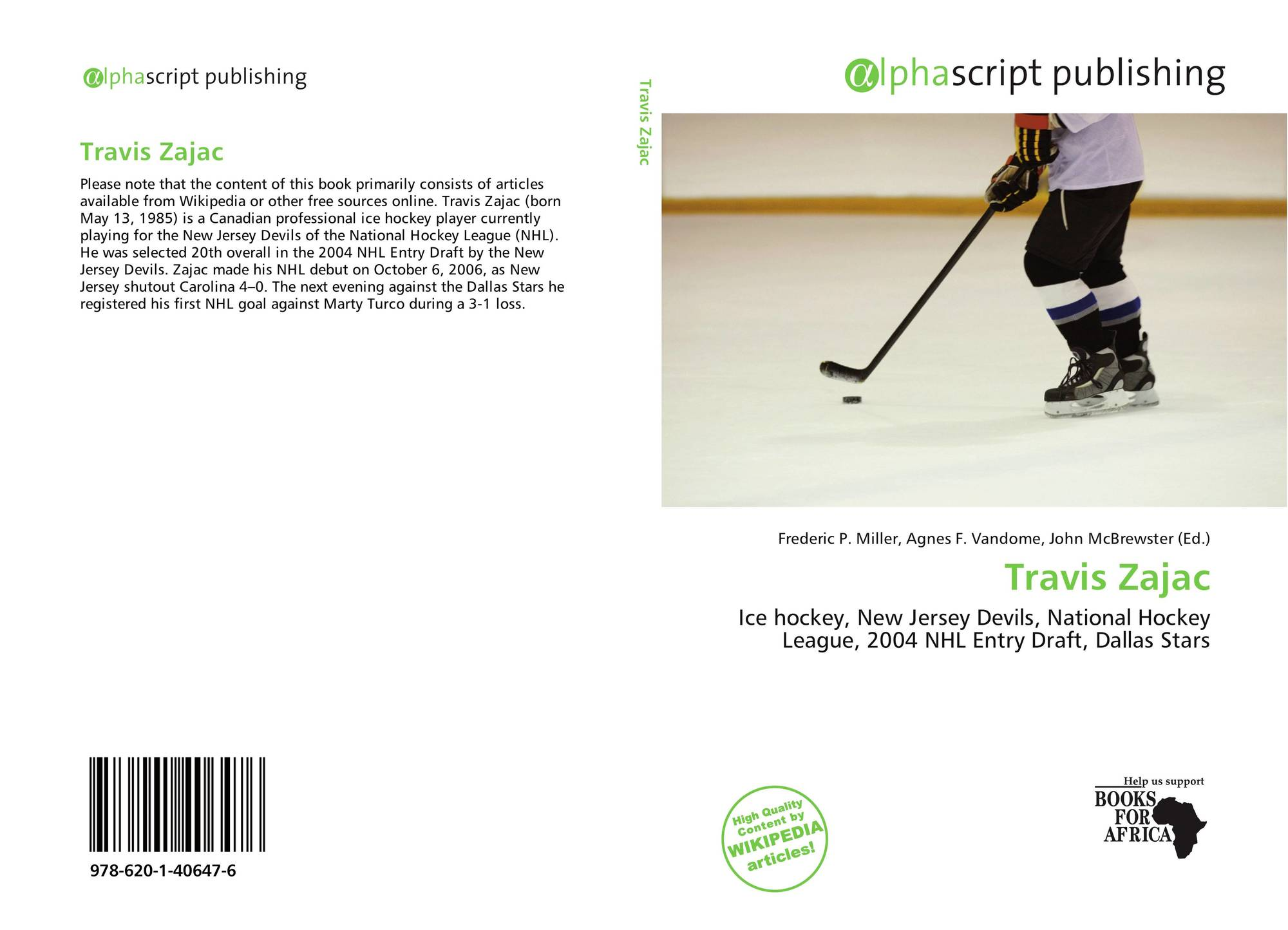 Bookcover of Travis Zajac 9430ab1bf