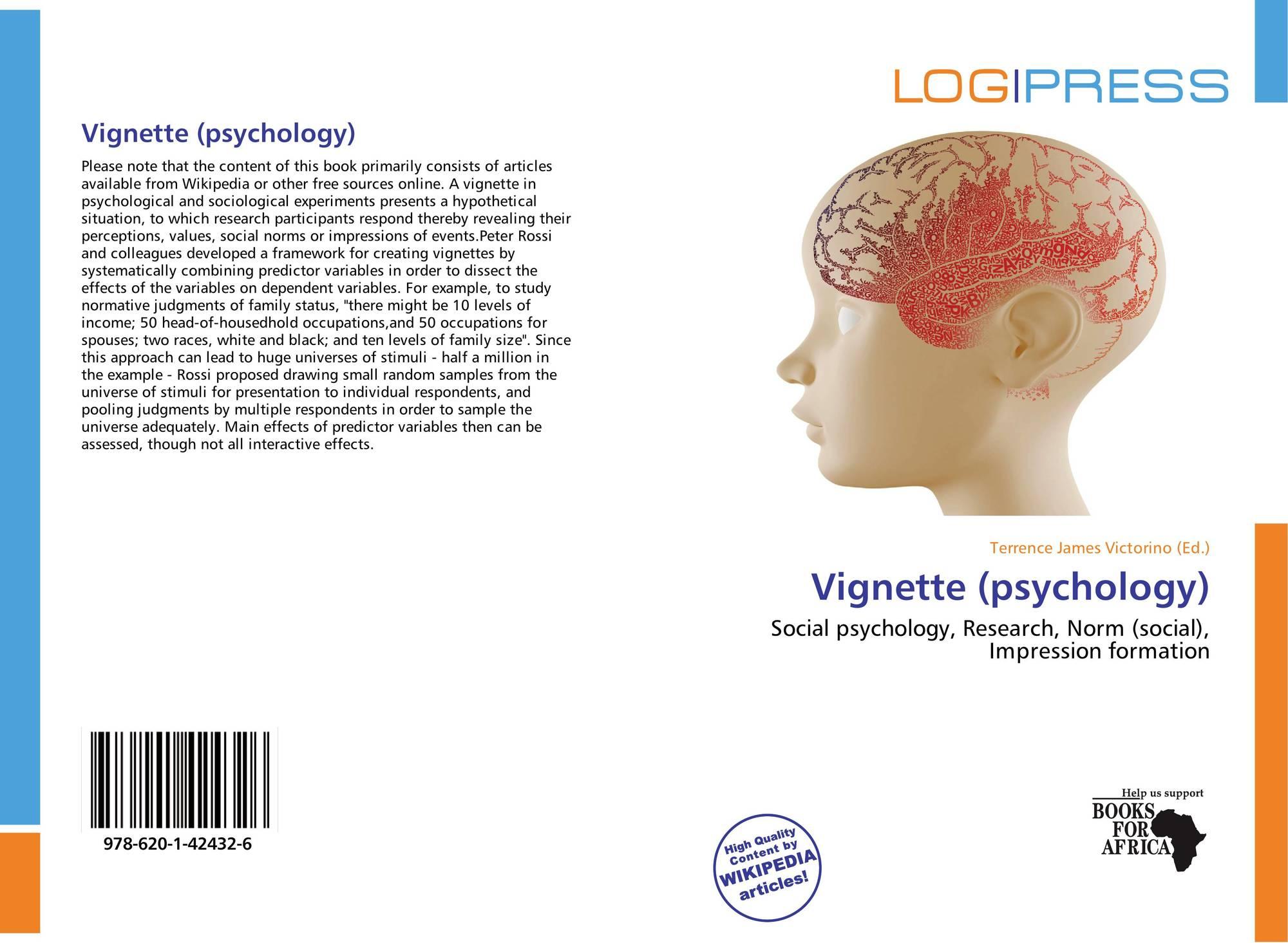 Vignette (psychology), 978-620-1-42432-6, 6201424326 ...