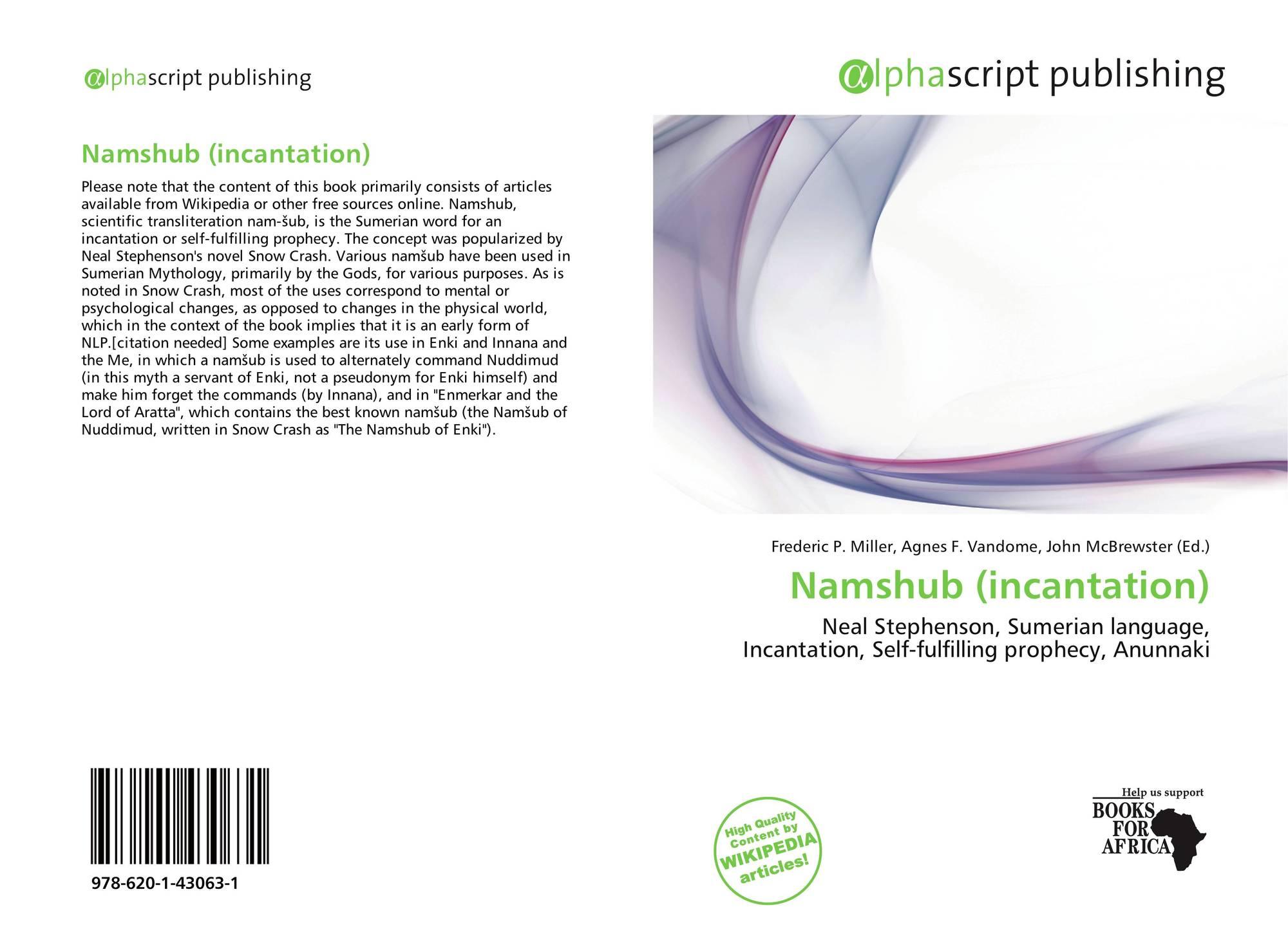 Namshub (incantation), 978-620-1-43063-1, 6201430636 ,9786201430631