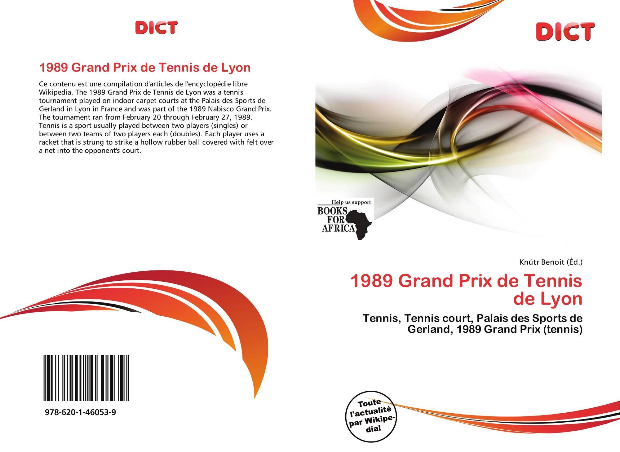 1989 grand prix de tennis de lyon 978 620 1 46053 9 for Serrurier lyon prix