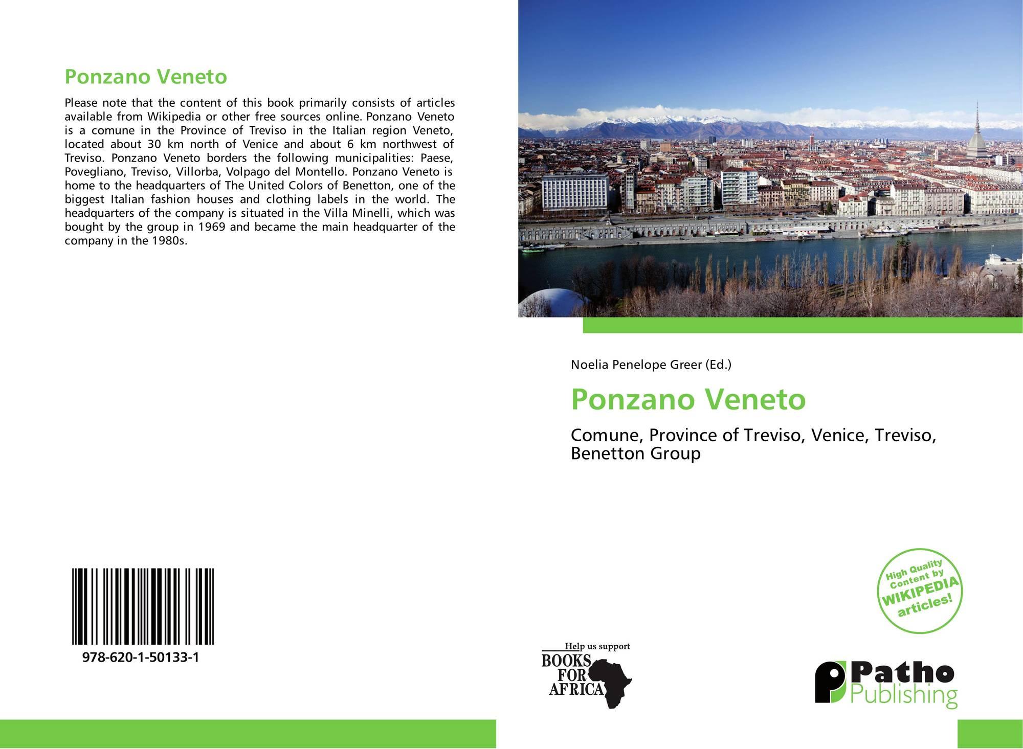 Comune Di Ponzano Veneto ponzano veneto, 978-620-1-50133-1, 6201501339 ,9786201501331