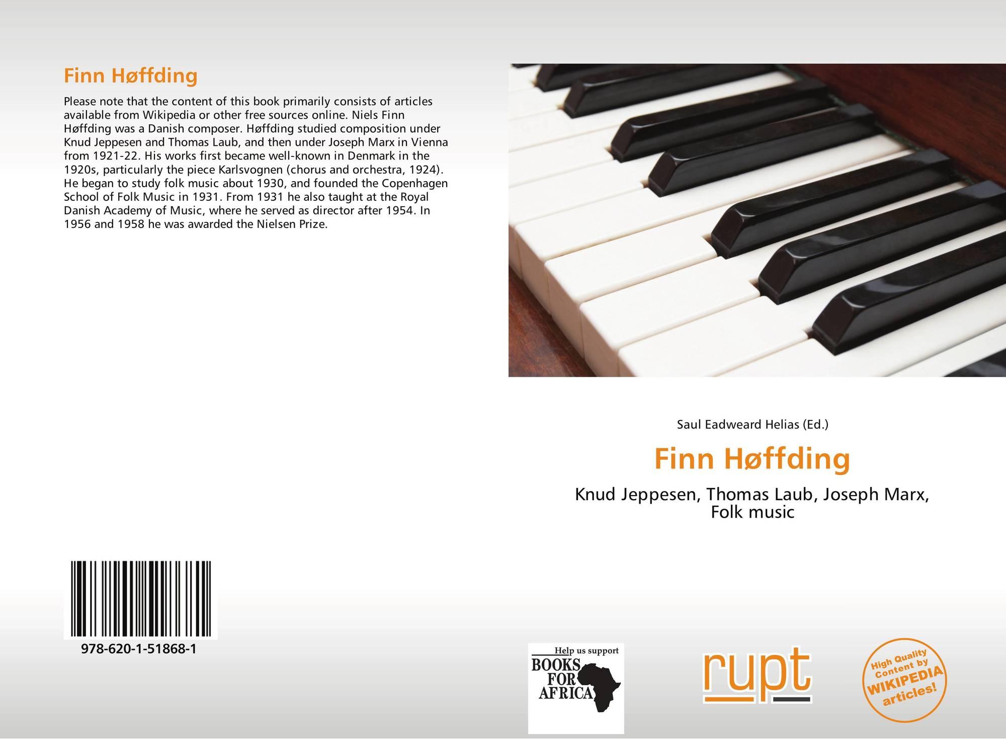 Finn Høffding, 978-620-1-51868-1, 6201518681 ,9786201518681