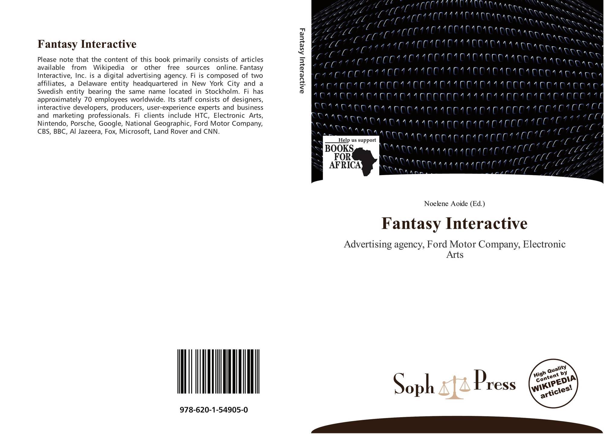 Fantasy Interactive 978 620 1 54905 0 6201549056 9786201549050