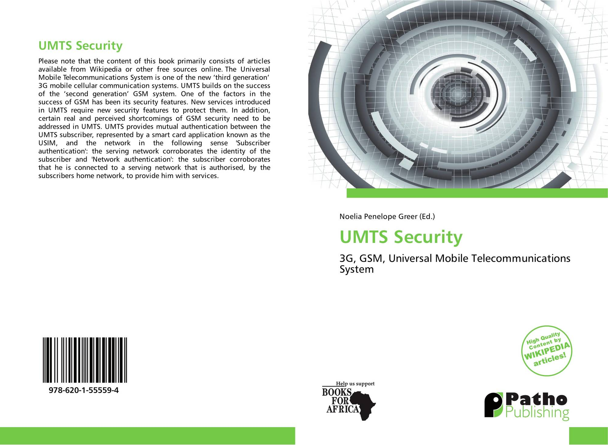 UMTS Security, 978-620-1-55559-4, 6201555595 ,9786201555594