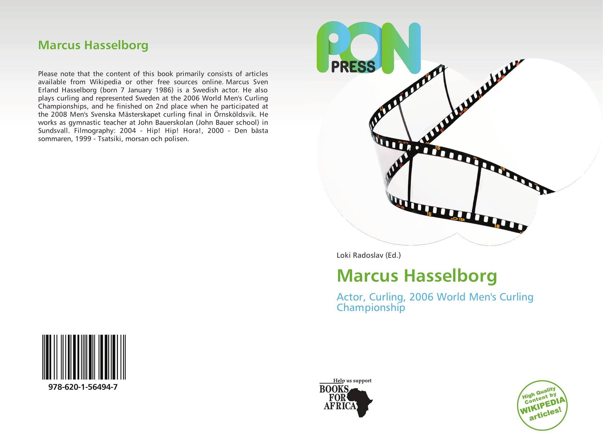 Marcus Hasselborg 978 620 1 56494 7 6201564942 9786201564947