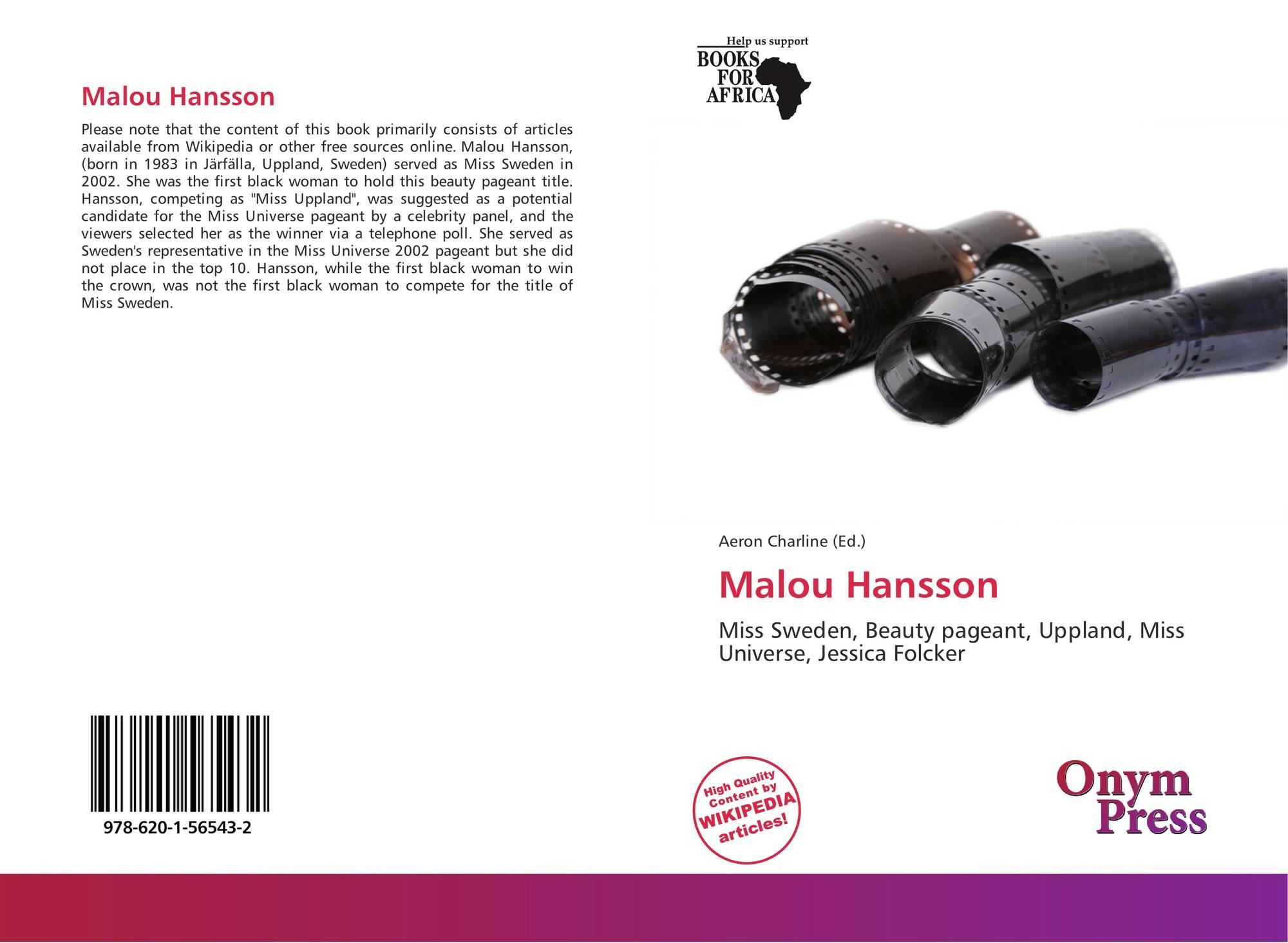 Malou: Malou Hansson, 978-620-1-56543-2, 6201565434 ,9786201565432