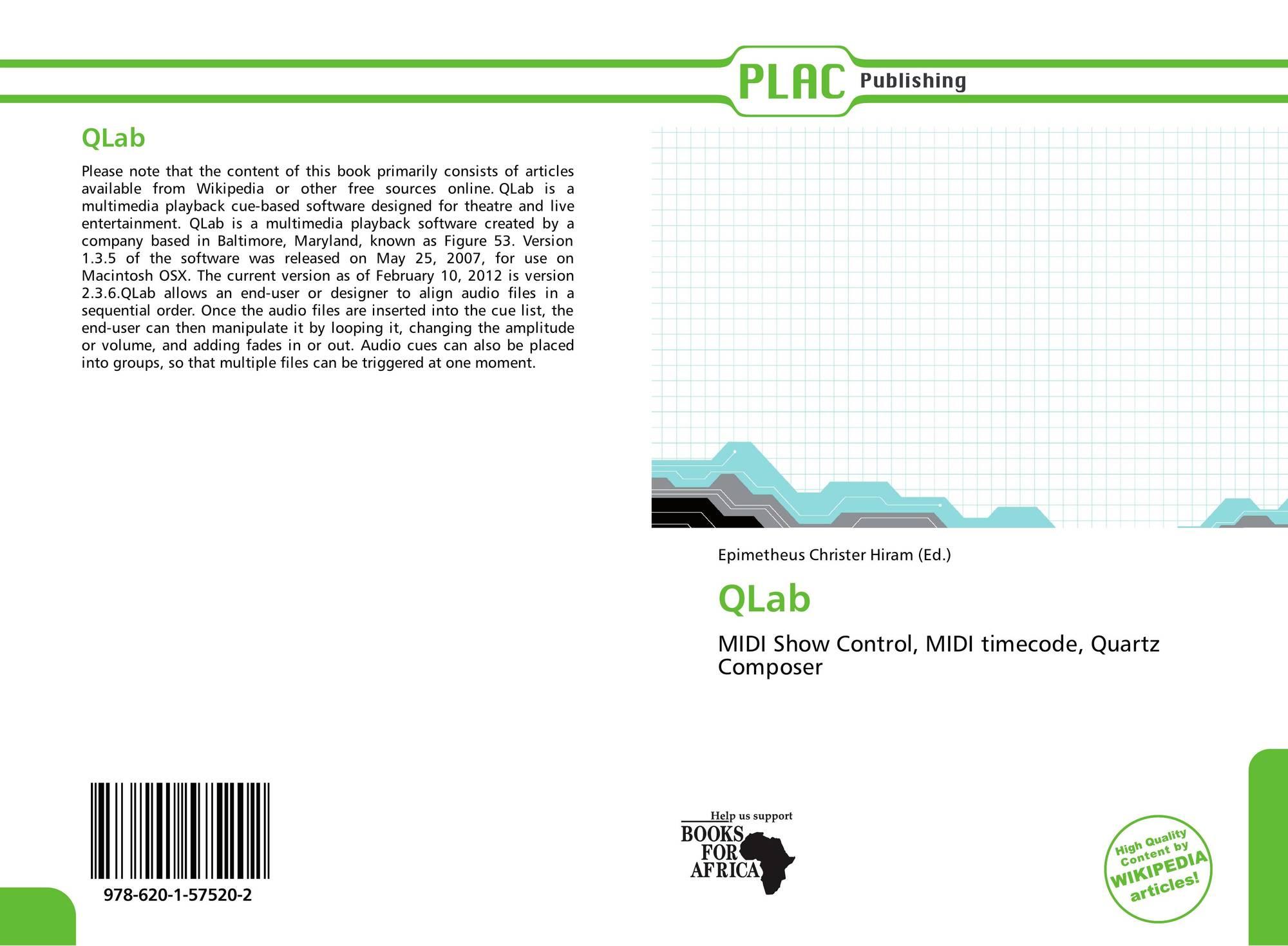 QLab, 978-620-1-57520-2, 6201575200 ,9786201575202