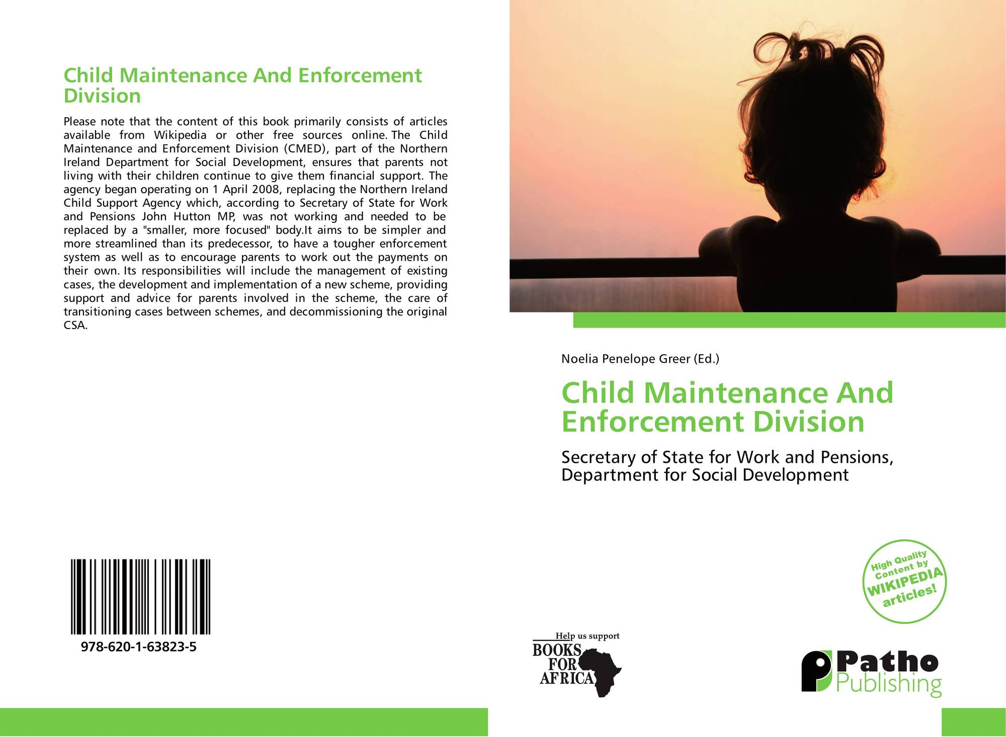 Child Maintenance And Enforcement Division, 978-620-1-63823