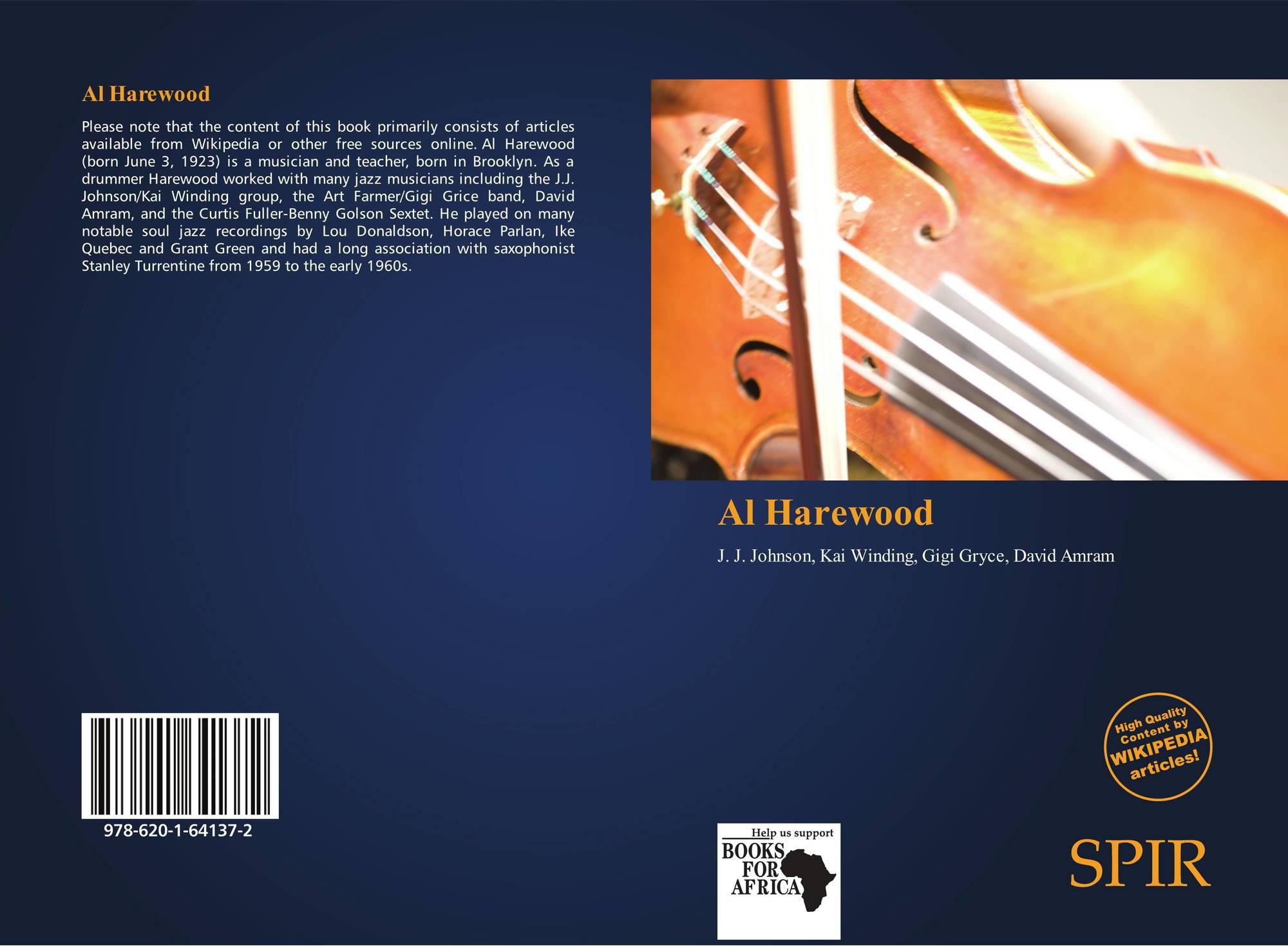 Al Harewood 978 620 1 64137 2 6201641378 9786201641372