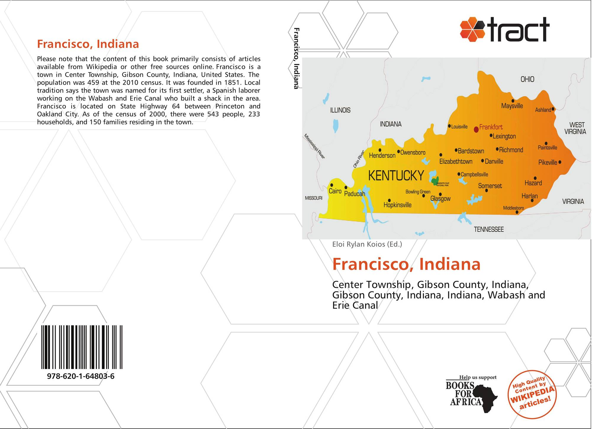 Indiana gibson county francisco - Bookcover Of Francisco Indiana