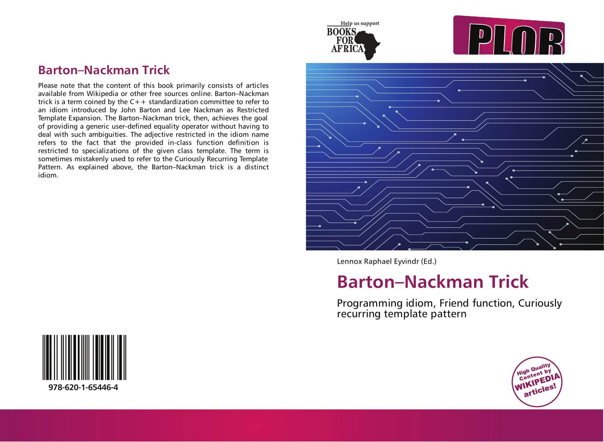 Bartonnackman trick 978 620 1 65446 4 6201654461 9786201654464 9786201654464 maxwellsz