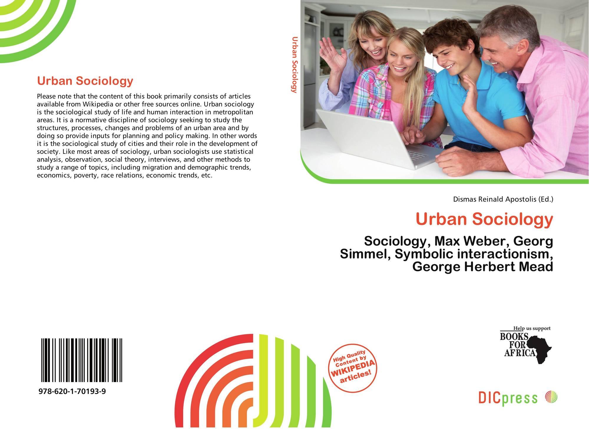 Urban Sociology 978 620 1 70193 9 6201701931 9786201701939