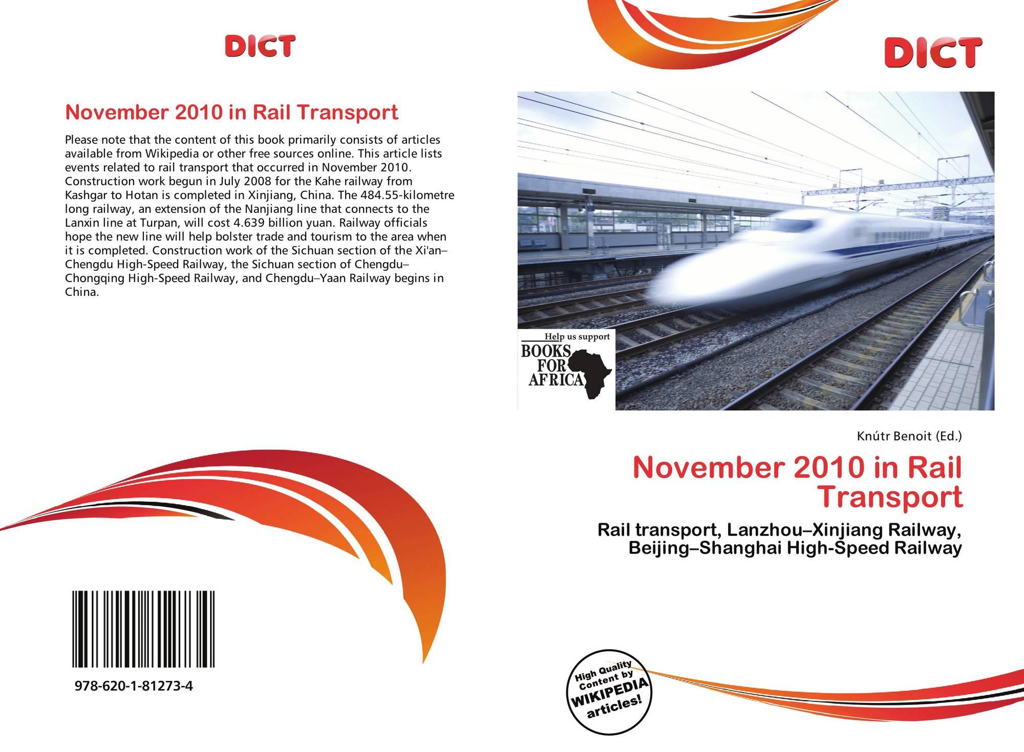 November 2010 in Rail Transport, 978-620-1-81273-4, 6201812733 ...