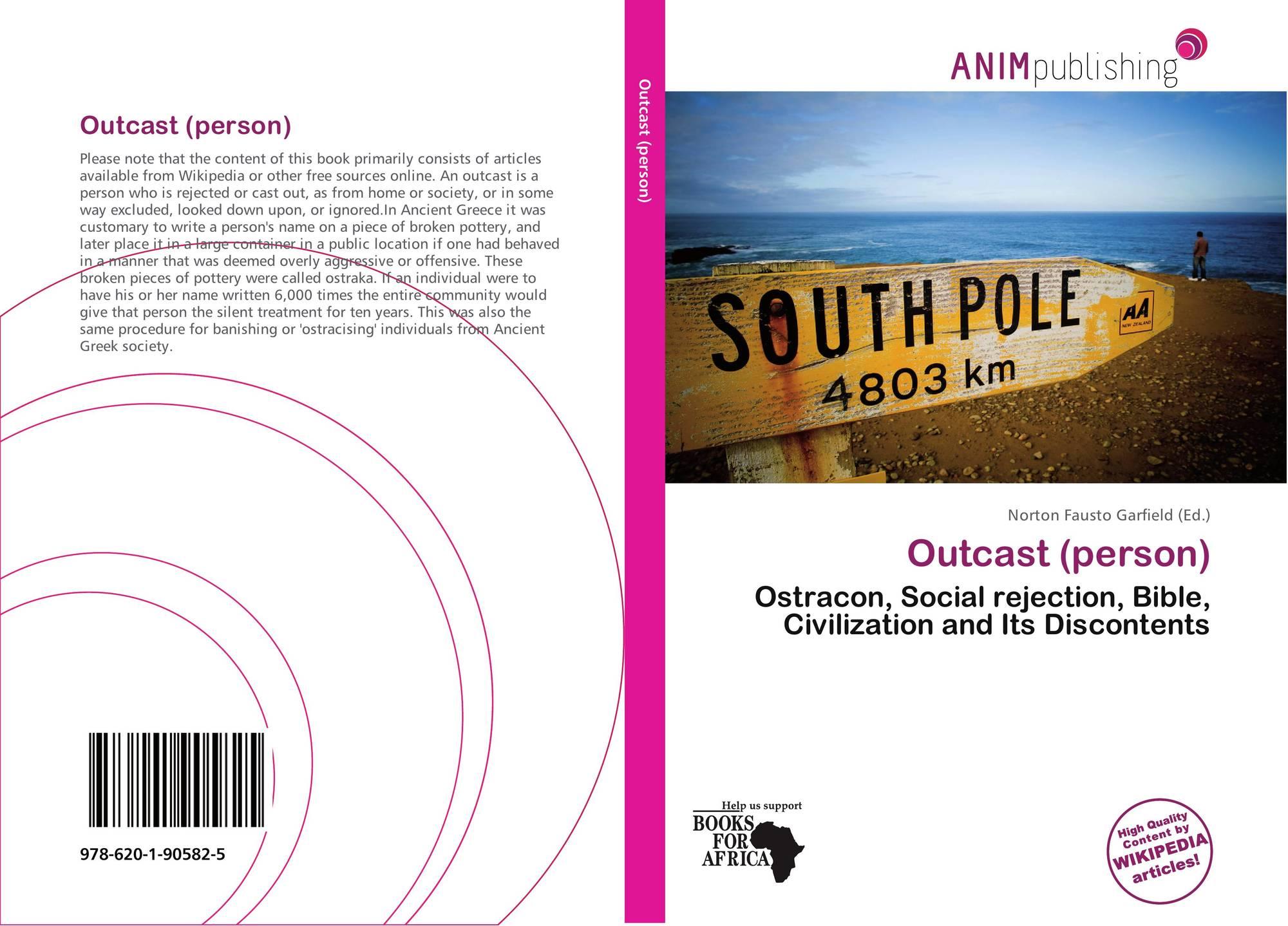Outcast (person), 978-620-1-90582-5, 6201905820 ,9786201905825