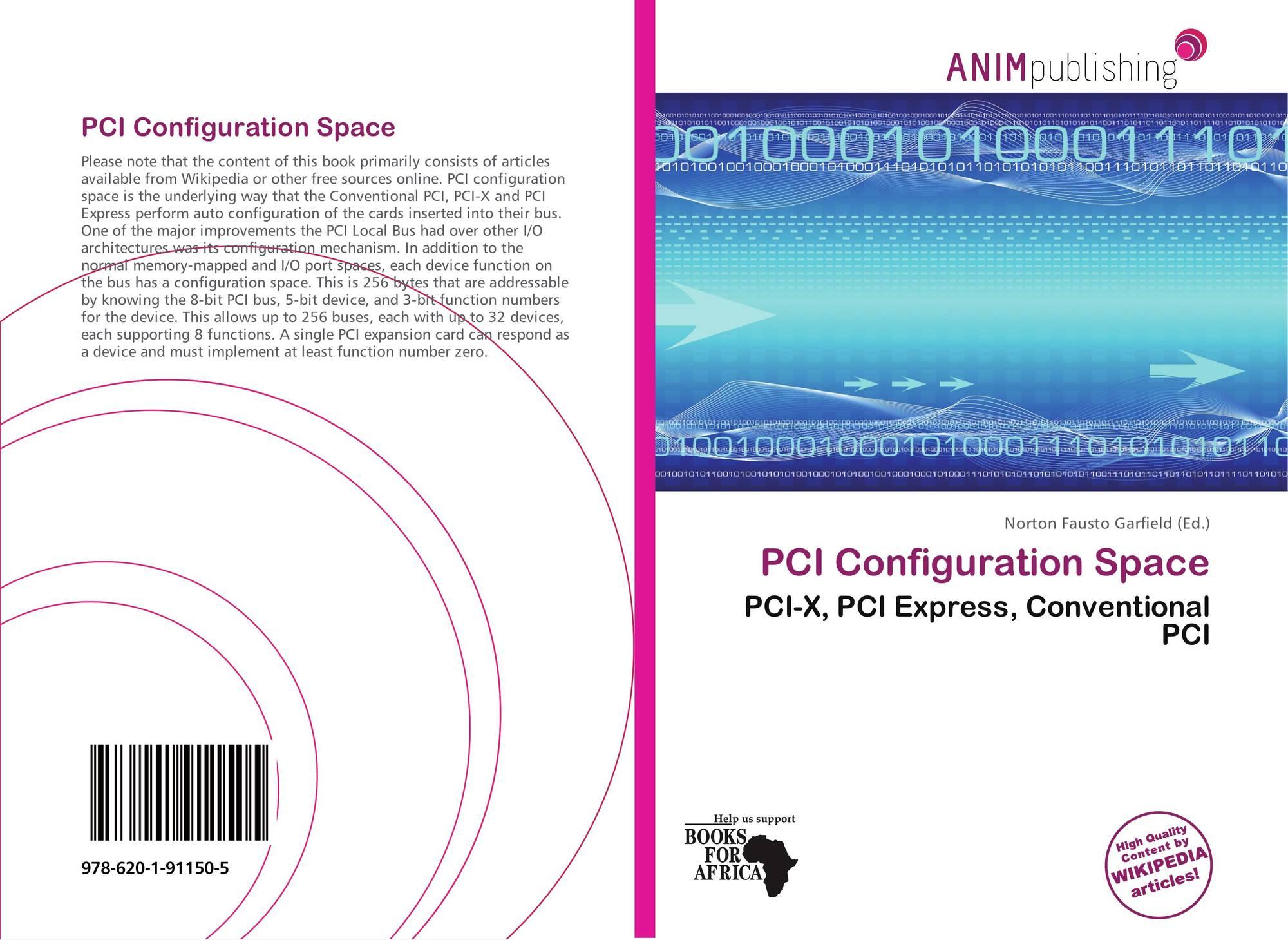 PCI Configuration Space, 978-620-1-91150-5, 6201911502