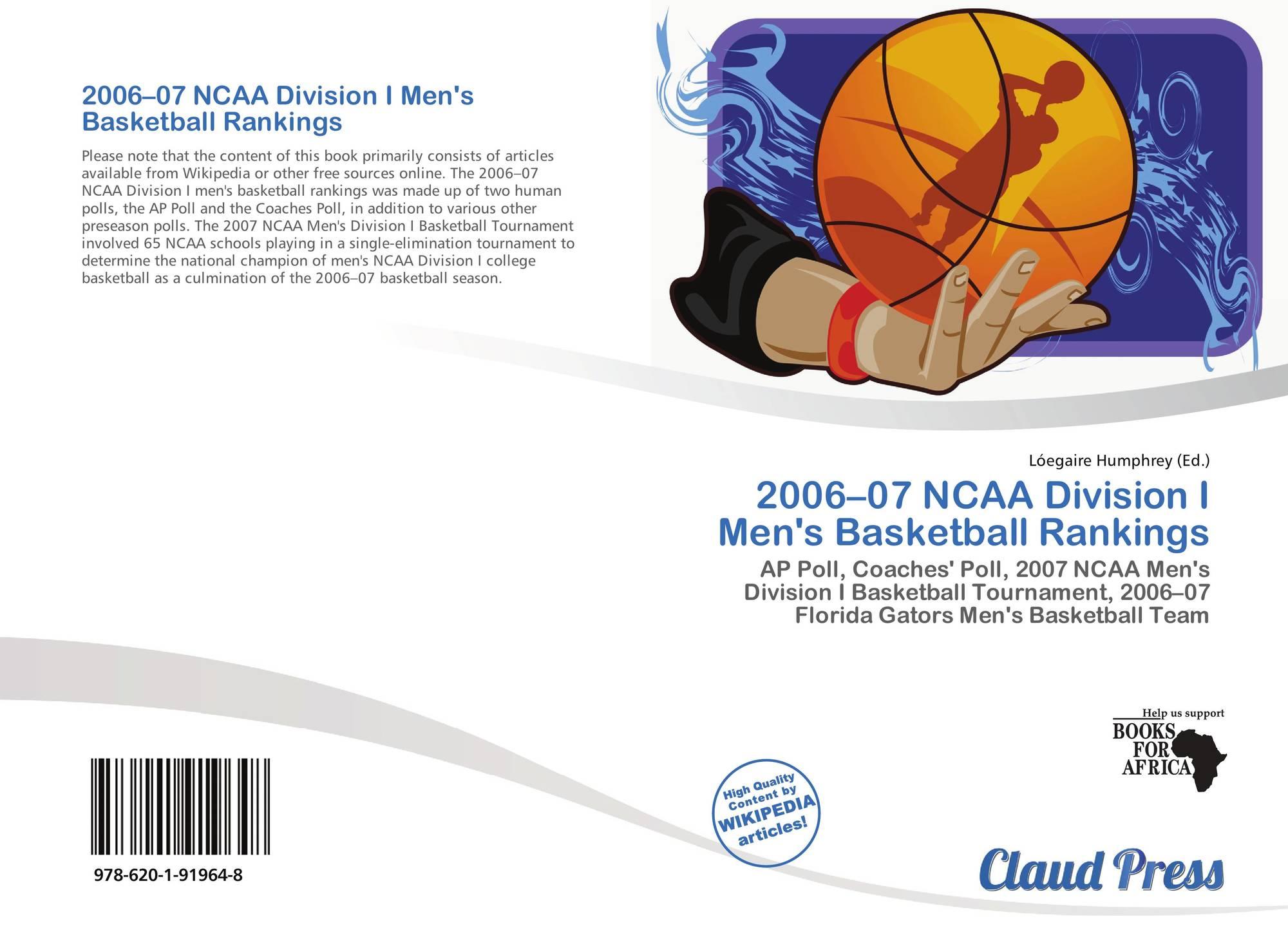 2006 07 Ncaa Division I Men S Basketball Rankings 978 620 1
