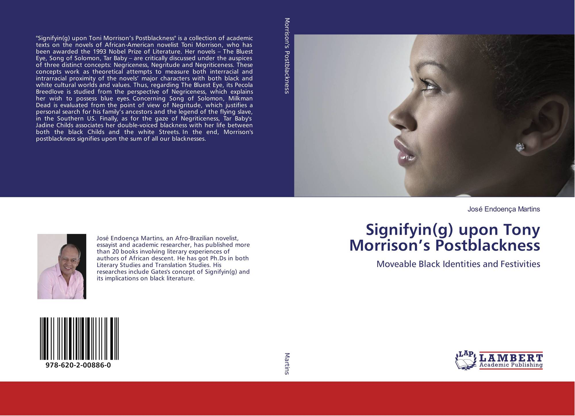 the focus on self identity in toni morrisons novel the blue eyes Start studying nella larsen's 'passing' + toni morrison's 'songs of solomon' identity politics of the novel novel, mirage, which was to focus on the.