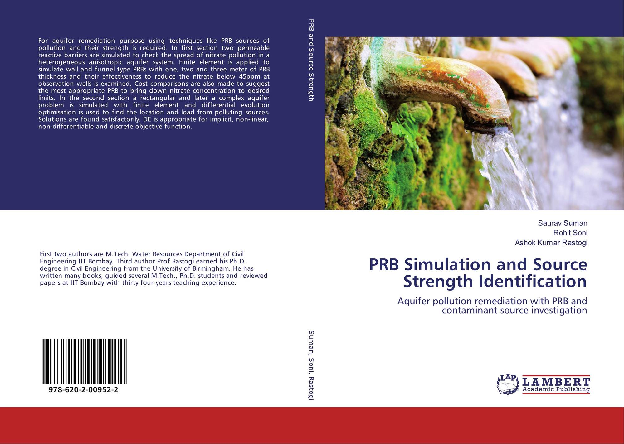 PRB Simulation and Source Strength Identification, 978-620-2-00952-2