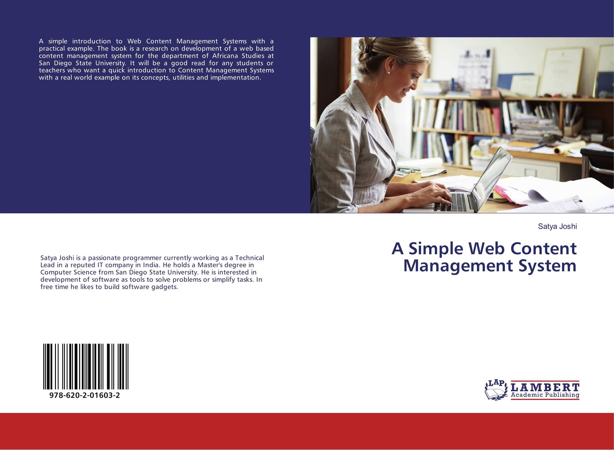 A Simple Web Content Management System, 978-620-2-01603-2