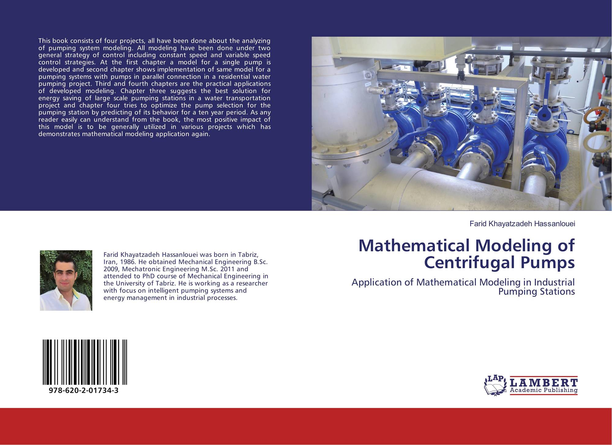 Mathematical Modeling of Centrifugal Pumps, 978-620-2-01734