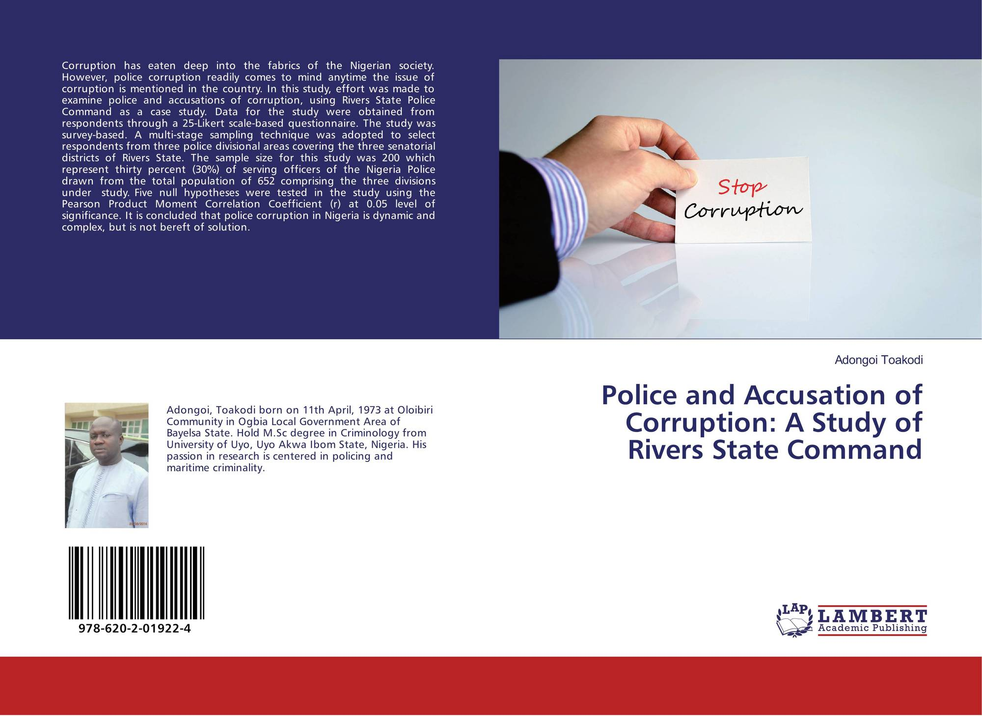 nature and causes of police corruption Learned about police corruption in south africa from press stories, sayed and bruce (1998) collected and analysed the instances of police corruption reported on over a 15-month period from february 1996 to april 1997.