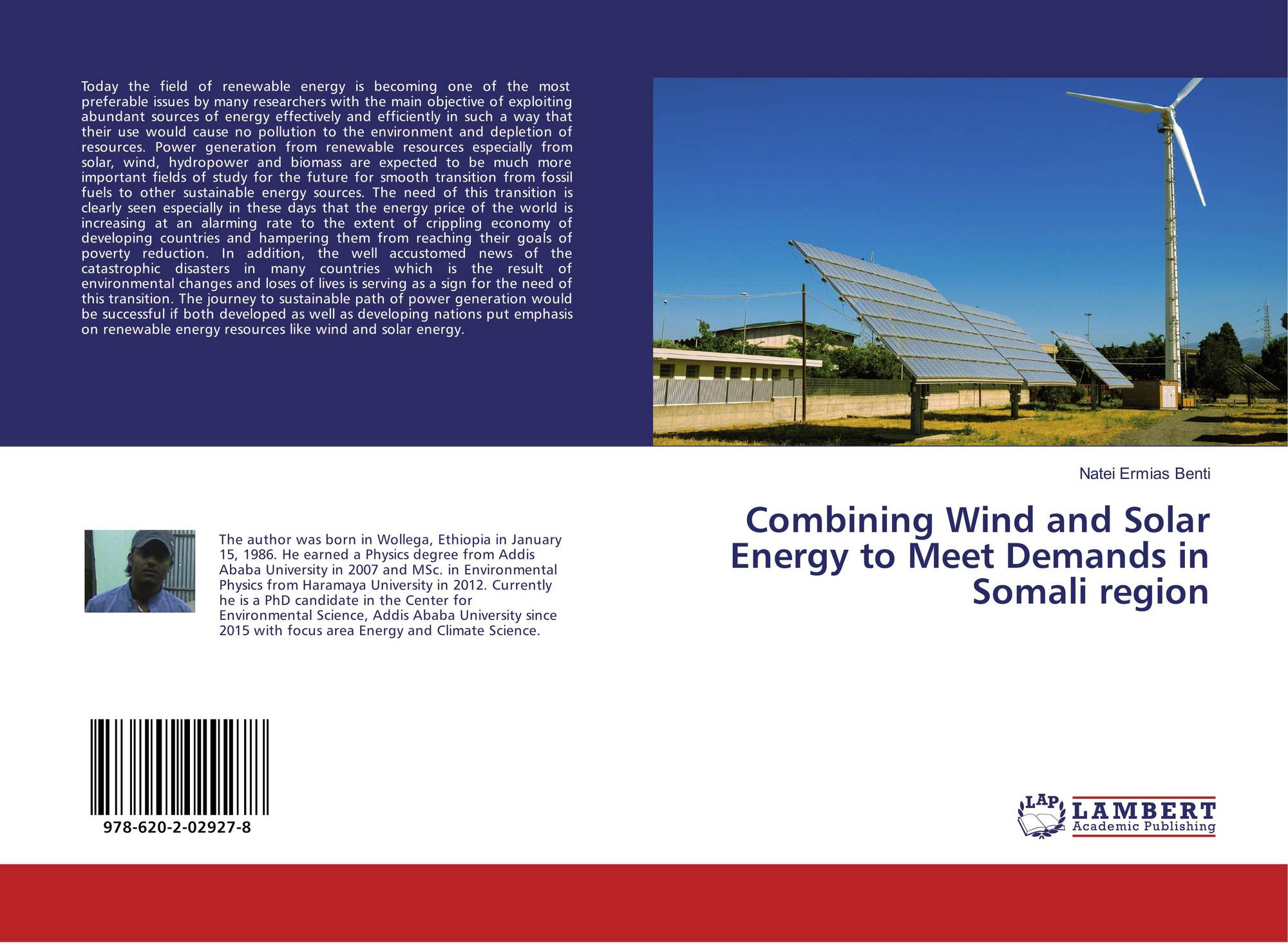 Combining Wind and Solar Energy to Meet Demands in Somali