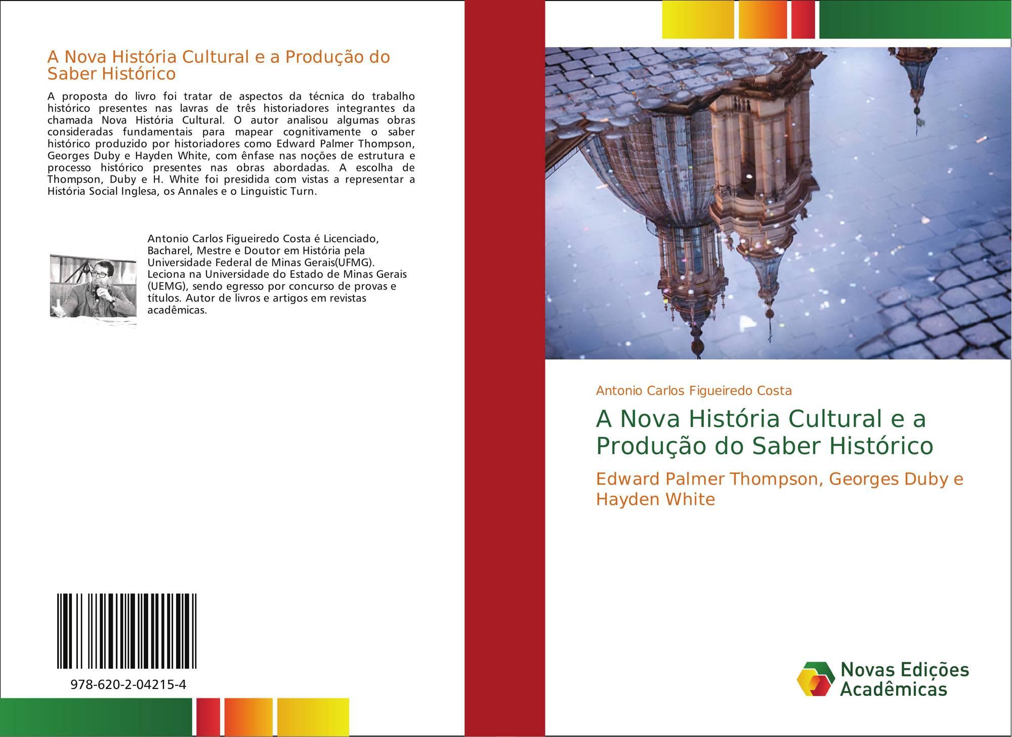 Portada del libro de A Nova História Cultural e a Produção do Saber  Histórico 4c68dd3f65