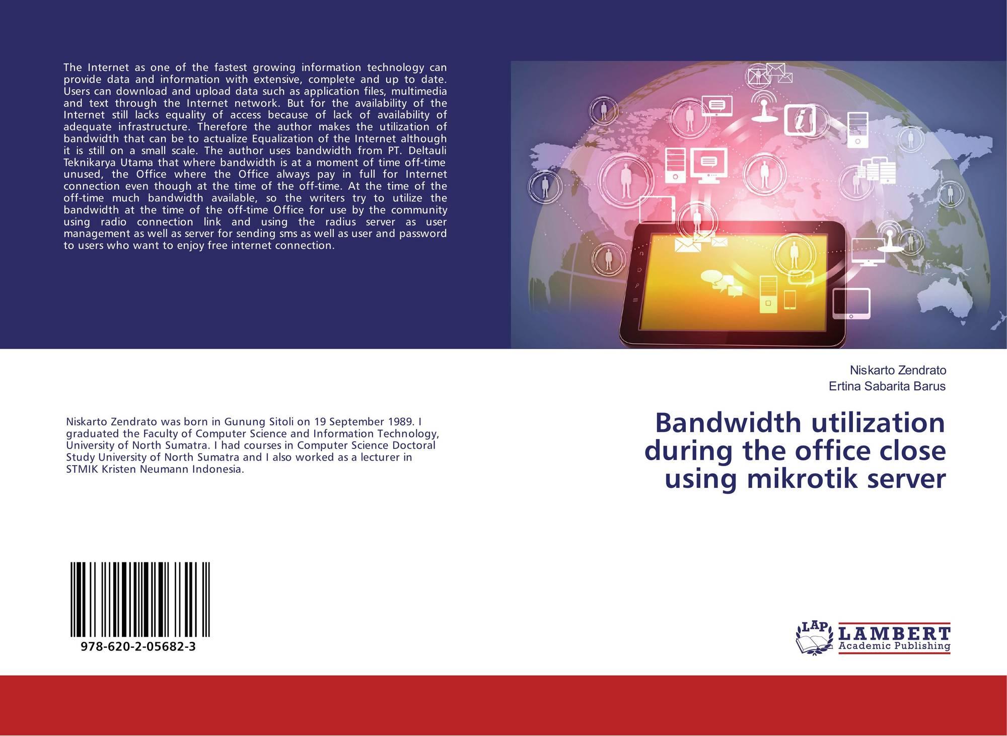 Bandwidth utilization during the office close using mikrotik server