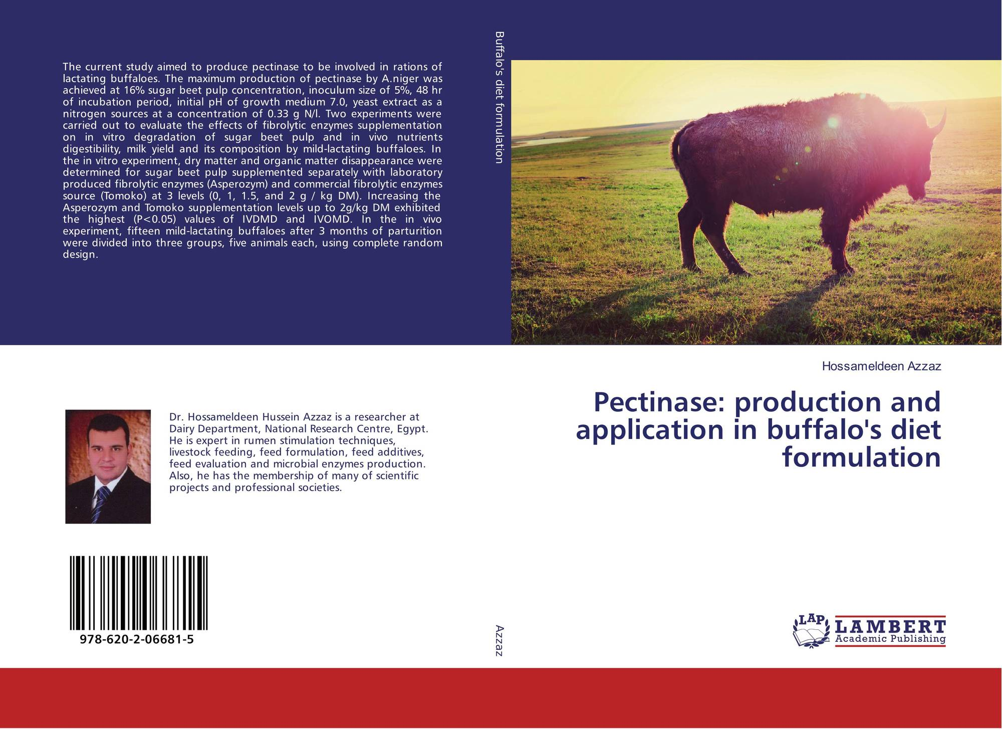 Pectinase: production and application in buffalo's diet formulation