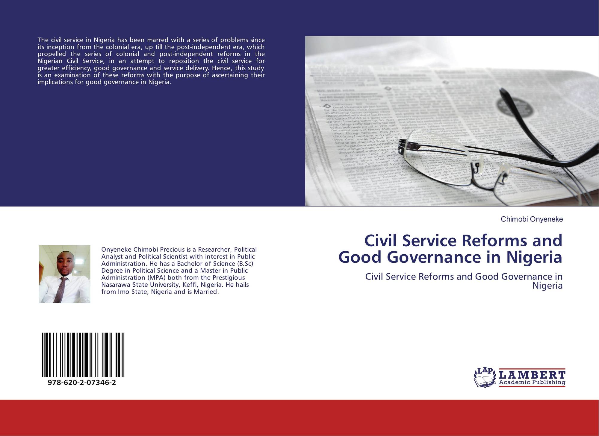 anazodo civil service reform 2 winter2012 Administrative values and public personnel management civil service reform under george w bush: a look at progress fifteen years after the winter commission.