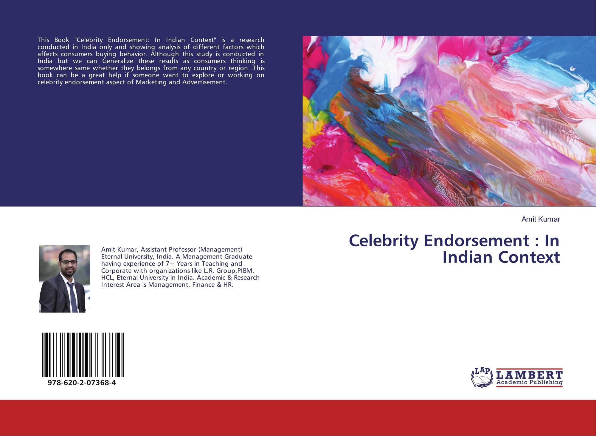 celebrity endorsement on consumer buying behaviour