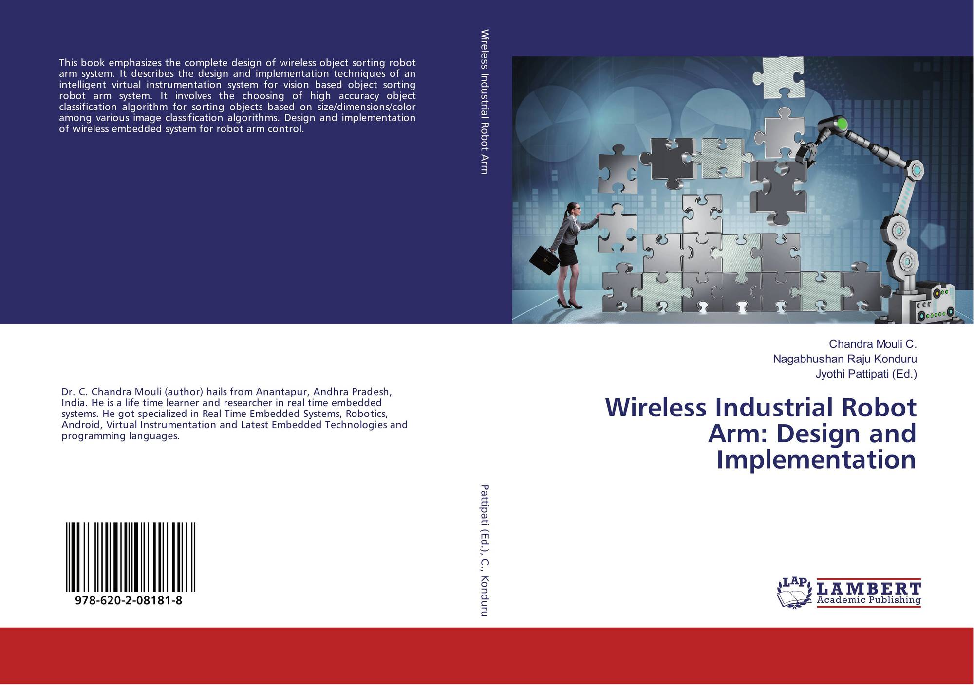 Wireless Industrial Robot Arm: Design and Implementation, 978-620-2