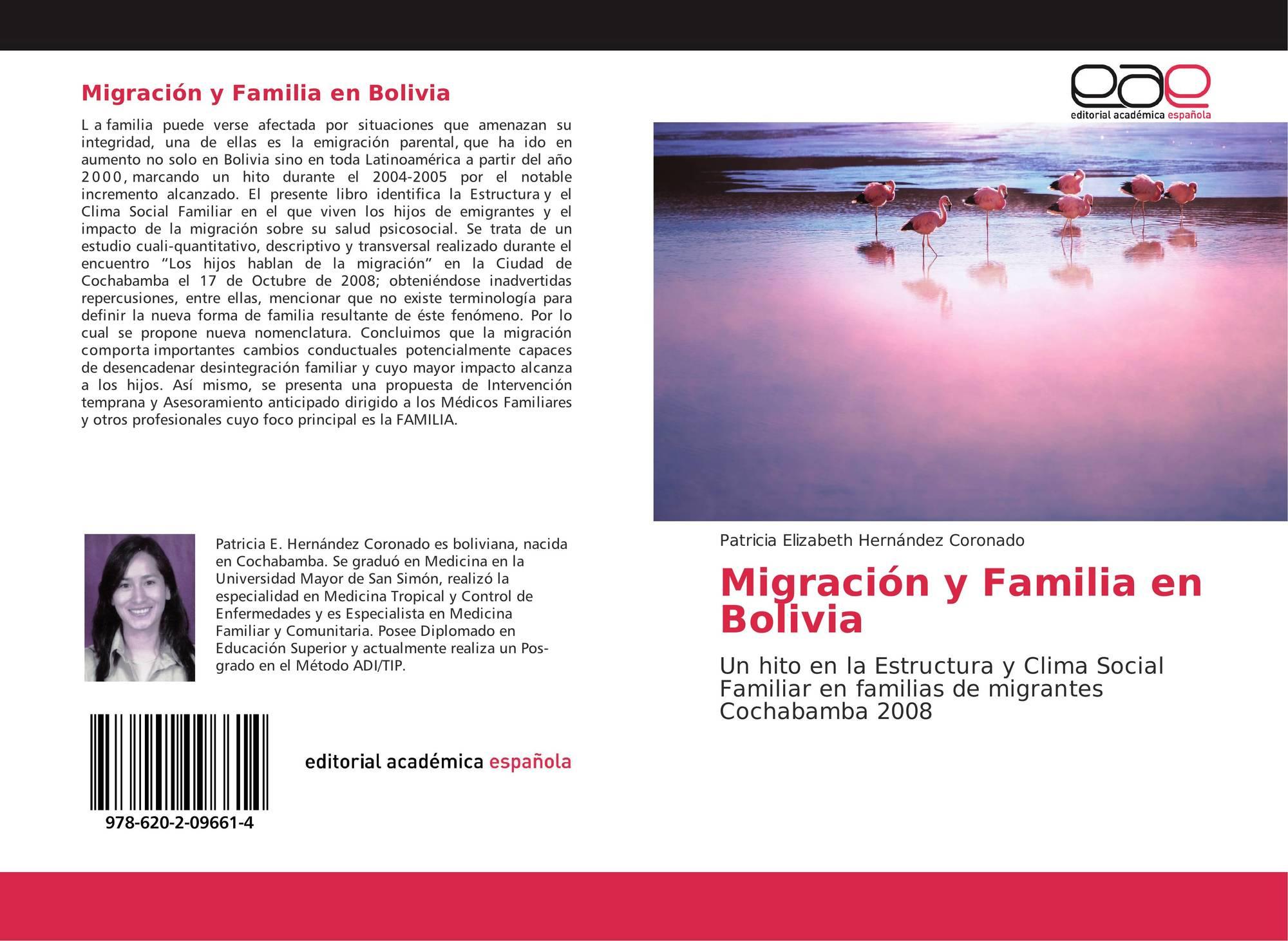 Migración Y Familia En Bolivia 978 620 2 09661 4