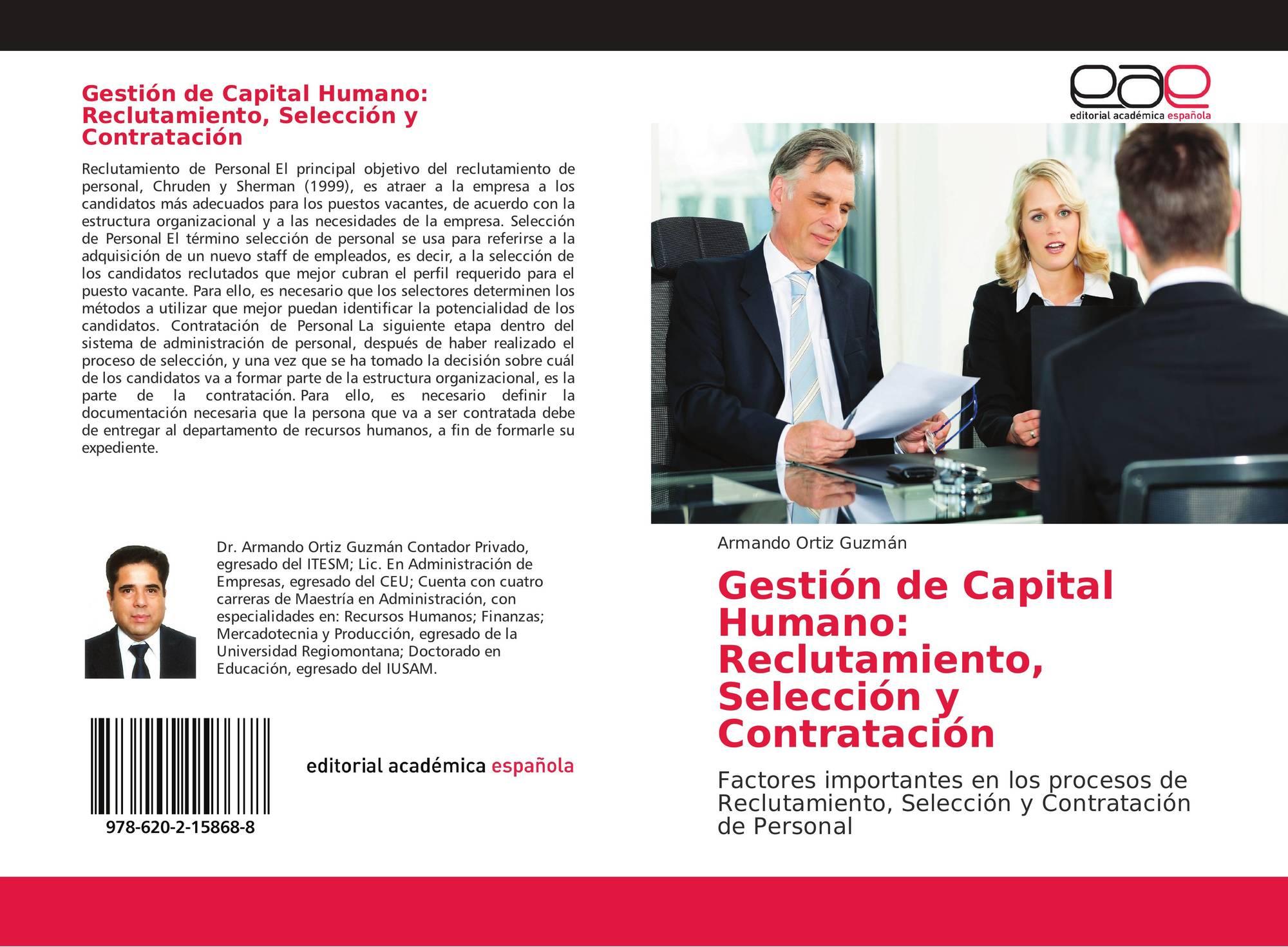 Gestion De Capital Humano Reclutamiento Seleccion Y Contratacion