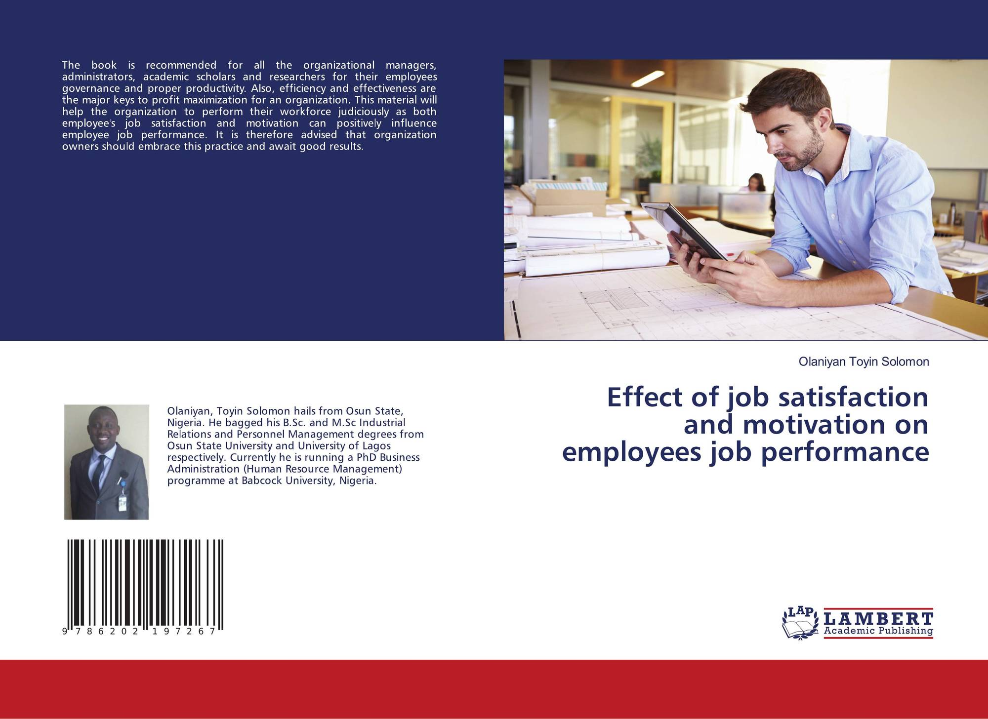 the effect of work motivation on job satisfaction Tapanuli need to evaluate themselves on work motivation, job stress and job satisfaction perceived, so as to improve its performance keywords: work motivation, work stress, job satisfaction and teacher performance.