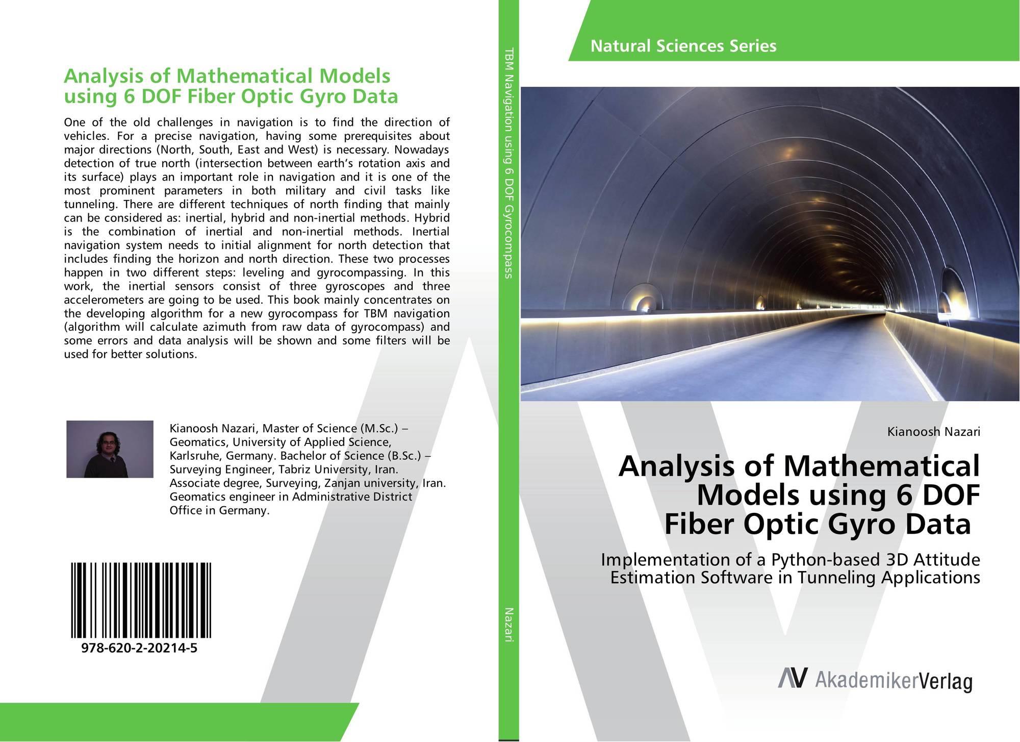Analysis of Mathematical Models using 6 DOF Fiber Optic Gyro Data