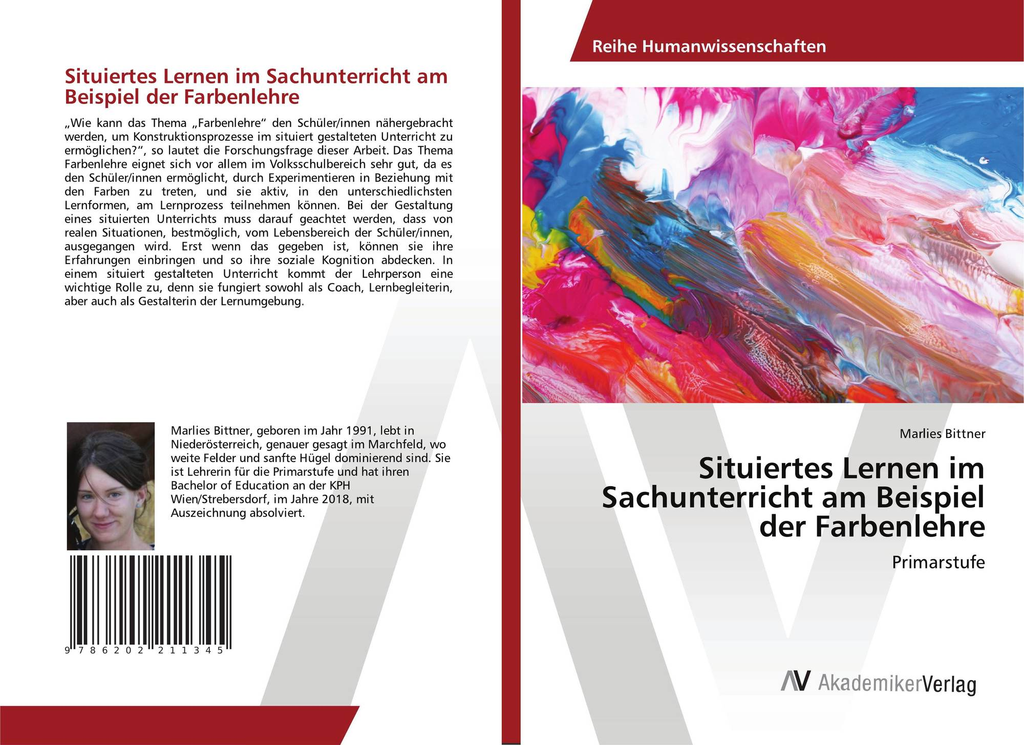 bookcover of situiertes lernen im sachunterricht am beispiel der farbenlehre - Lernen Am Modell Beispiele