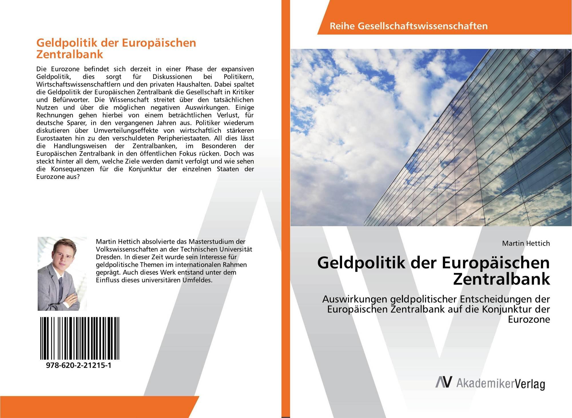 Geldpolitik der Europäischen Zentralbank, 978-620-2-21215-1 ...