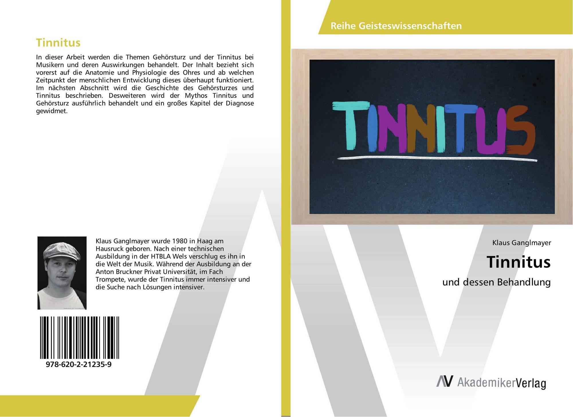 Tinnitus, 978-620-2-21235-9, 6202212357 ,9786202212359 von Klaus ...