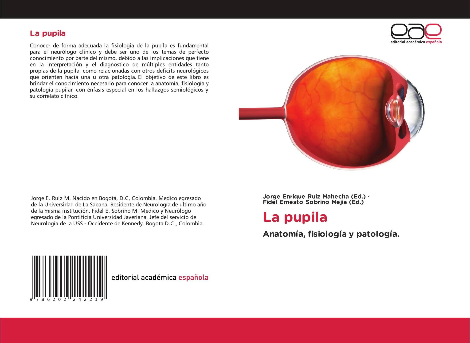 La pupila, 978-620-2-24221-9, 6202242213 ,9786202242219
