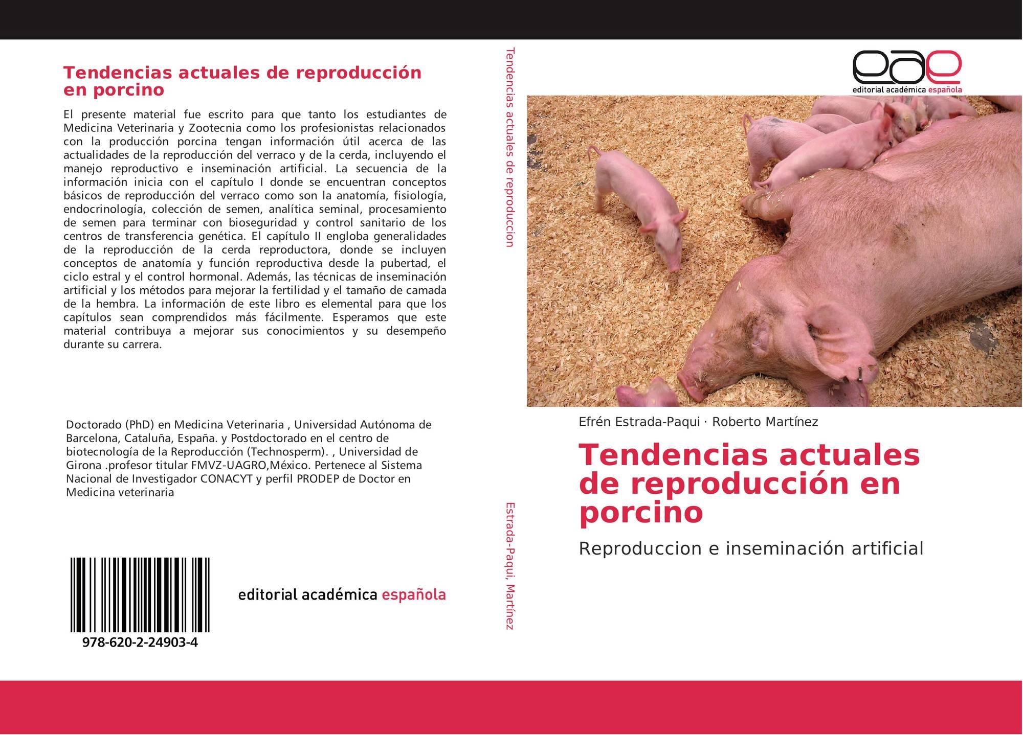 Tendencias actuales de reproducción en porcino, 978-620-2-24903-4 ...