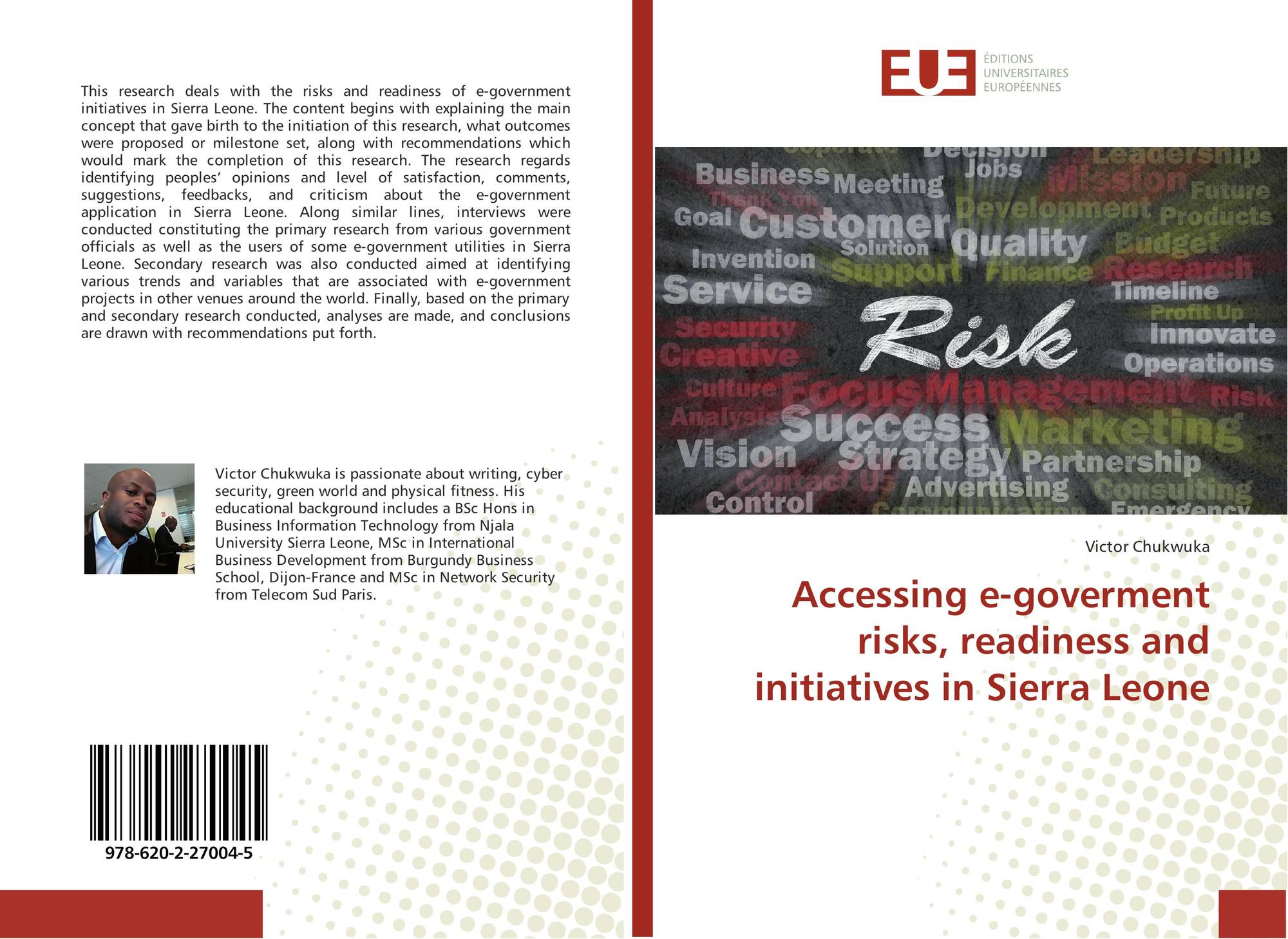 Accessing E Goverment Risks Readiness And Initiatives In Sierra