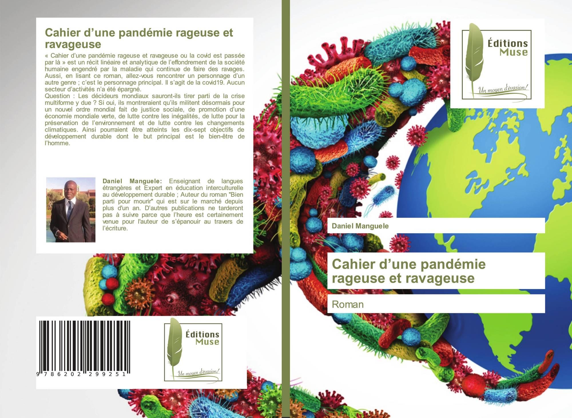 Cahier d'une pandémie rageuse et ravageuse, 978-620-2-29925-1, 6202299258  ,9786202299251 de Daniel Manguele