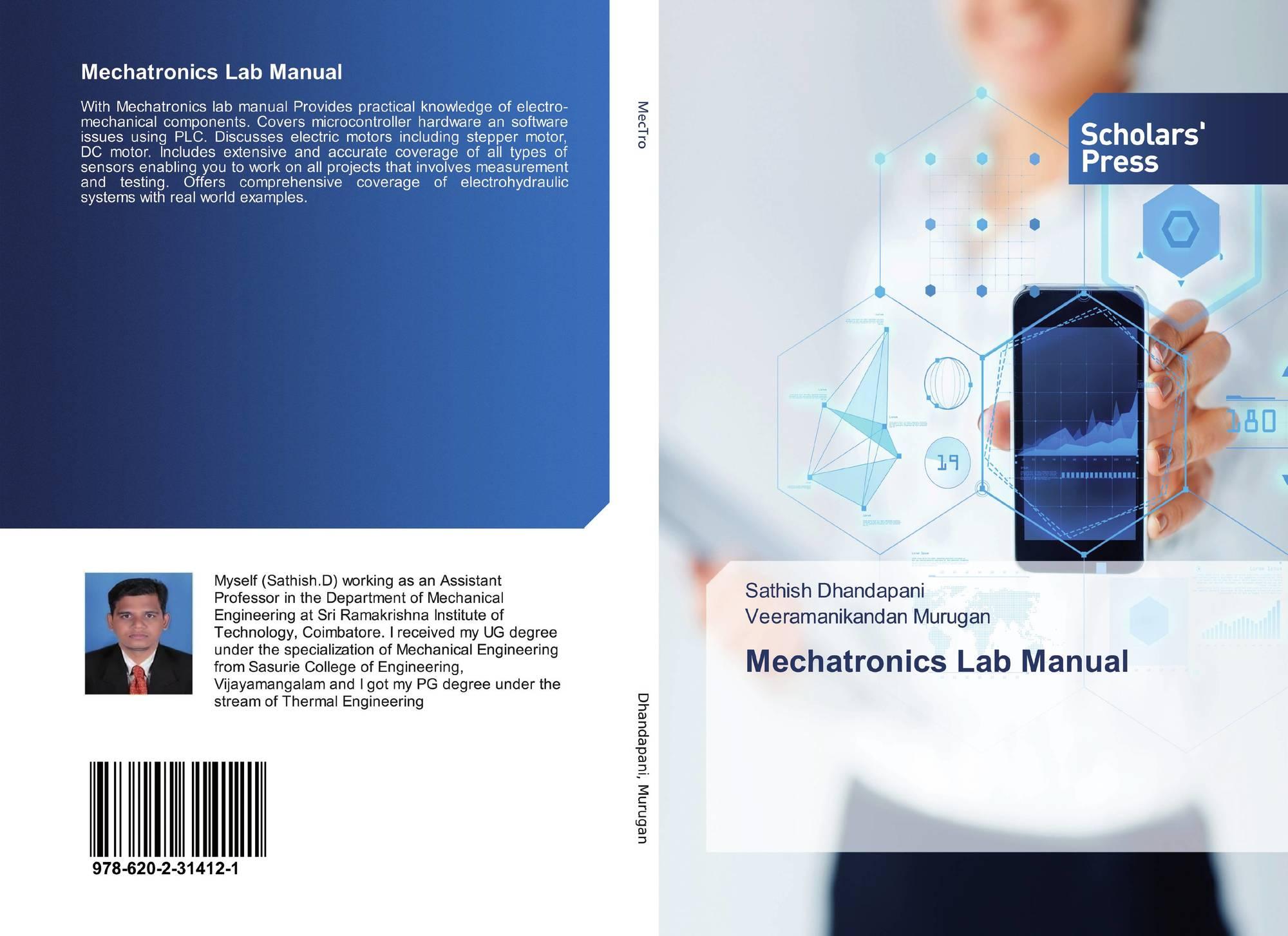 Bookcover of Mechatronics Lab Manual