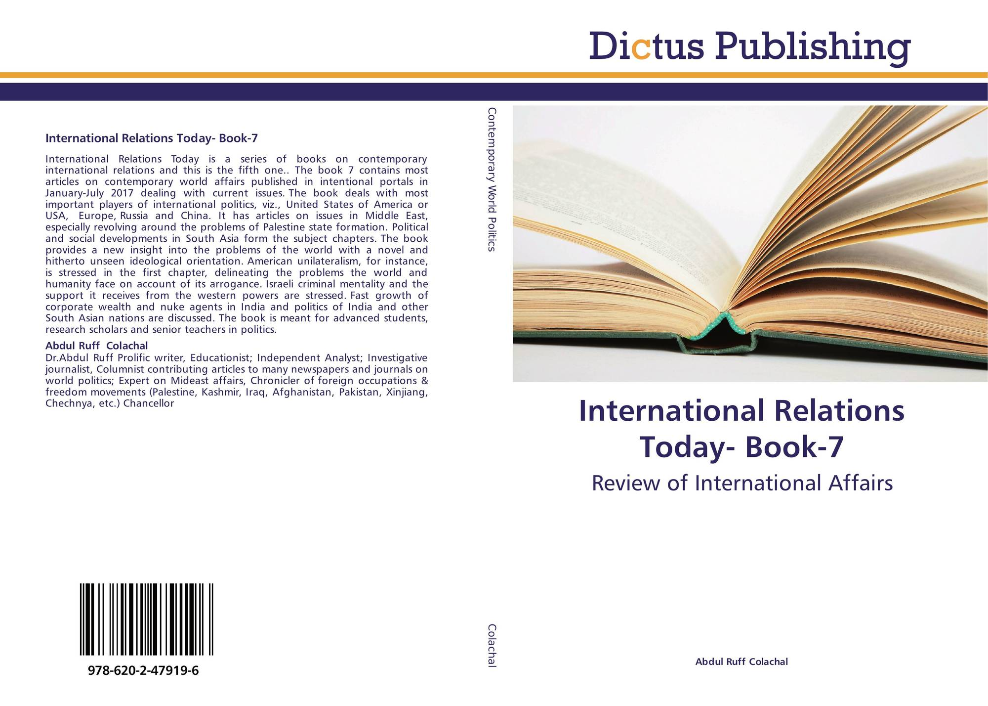 International Relations Today- Book-7, 978-620-2-47919-6, 6202479191